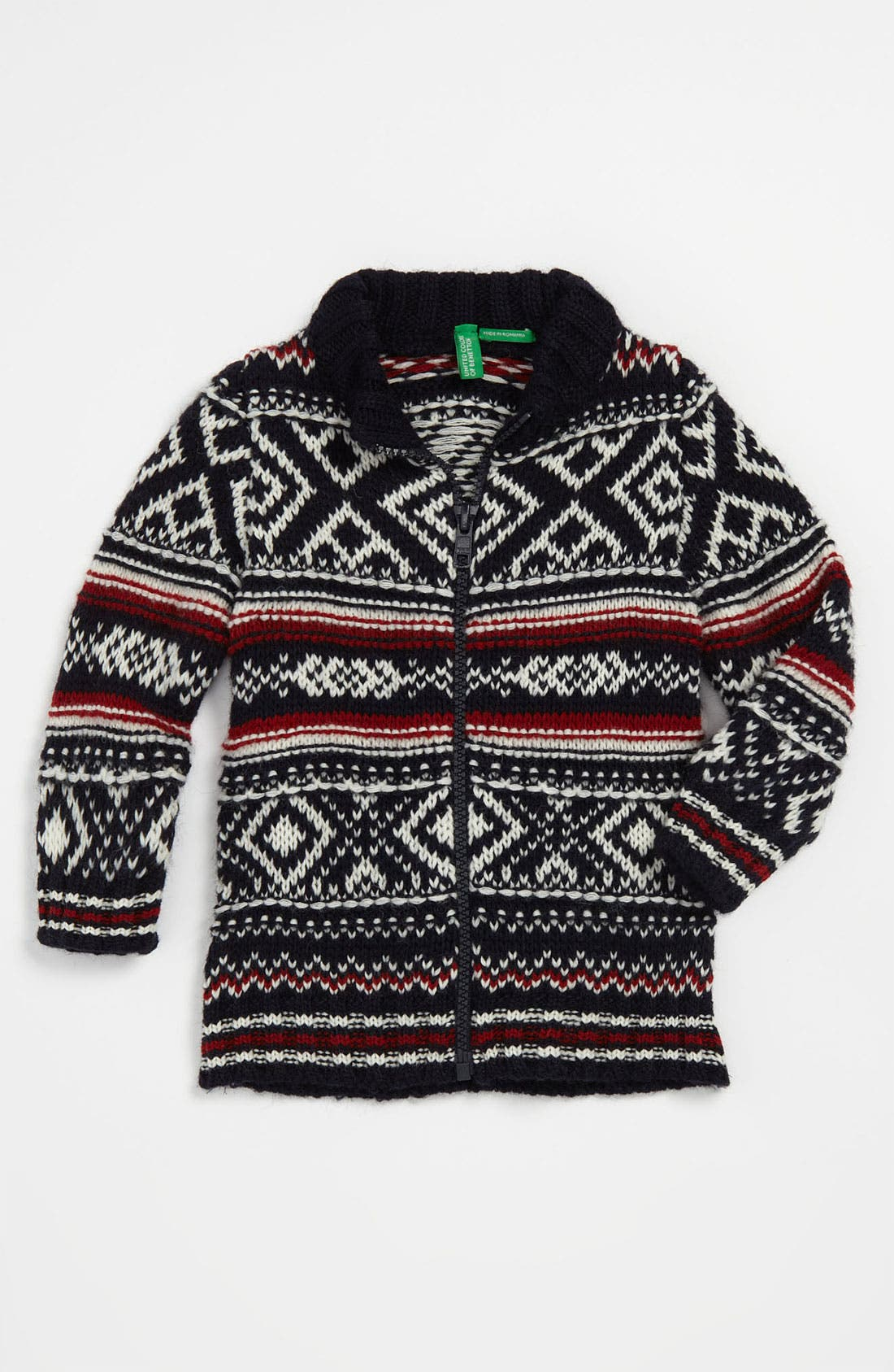 Alternate Image 1 Selected - United Colors of Benetton Kids 'Novelty' Sweater (Infant)