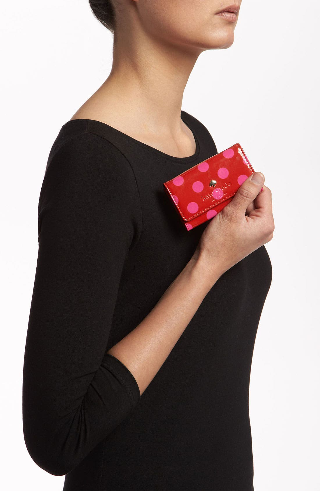 Alternate Image 2  - kate spade new york 'carlisle street - holly' card case