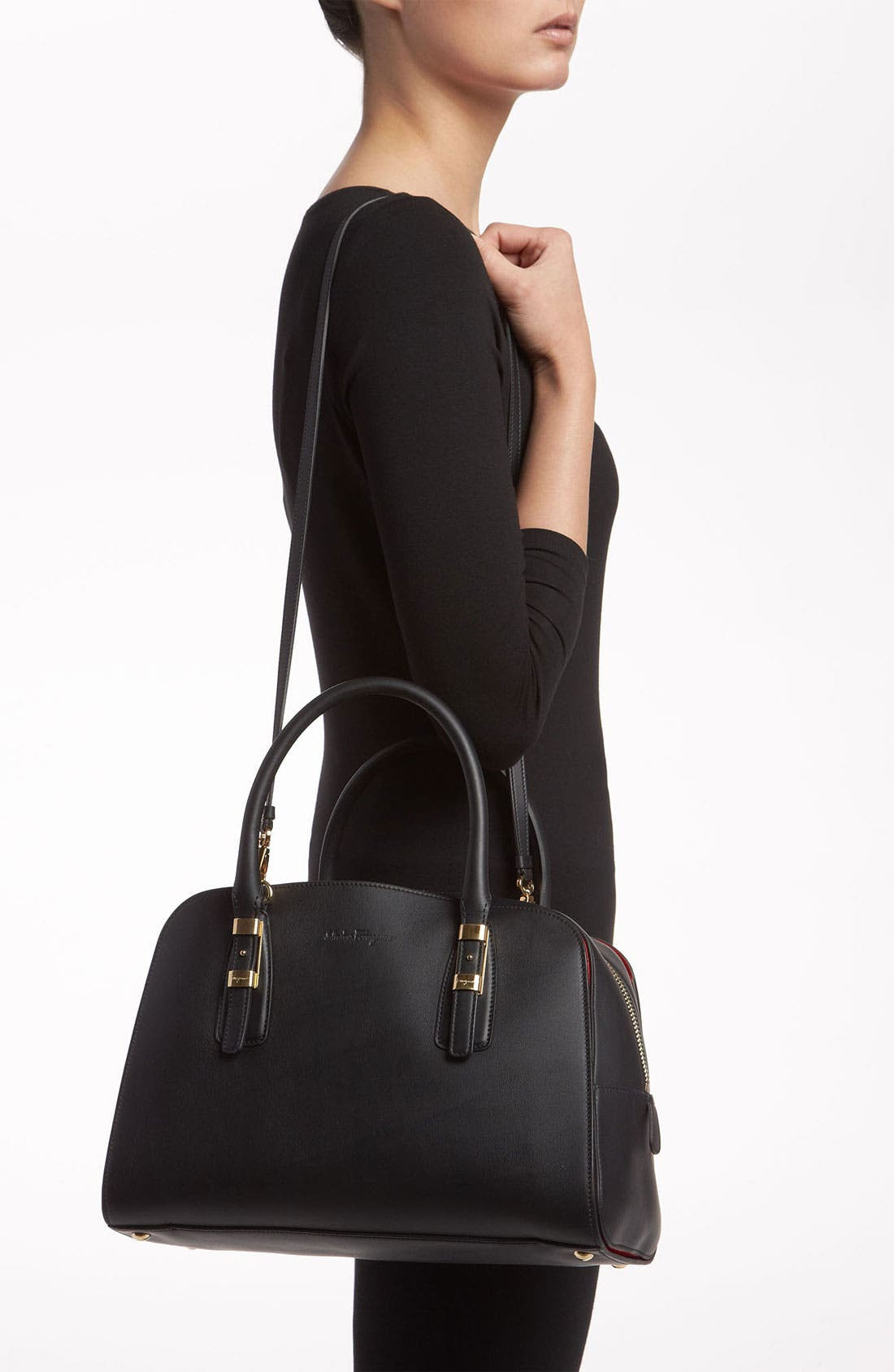 Alternate Image 2  - Salvatore Ferragamo 'Emmy - Small' Leather Crossbody Bag