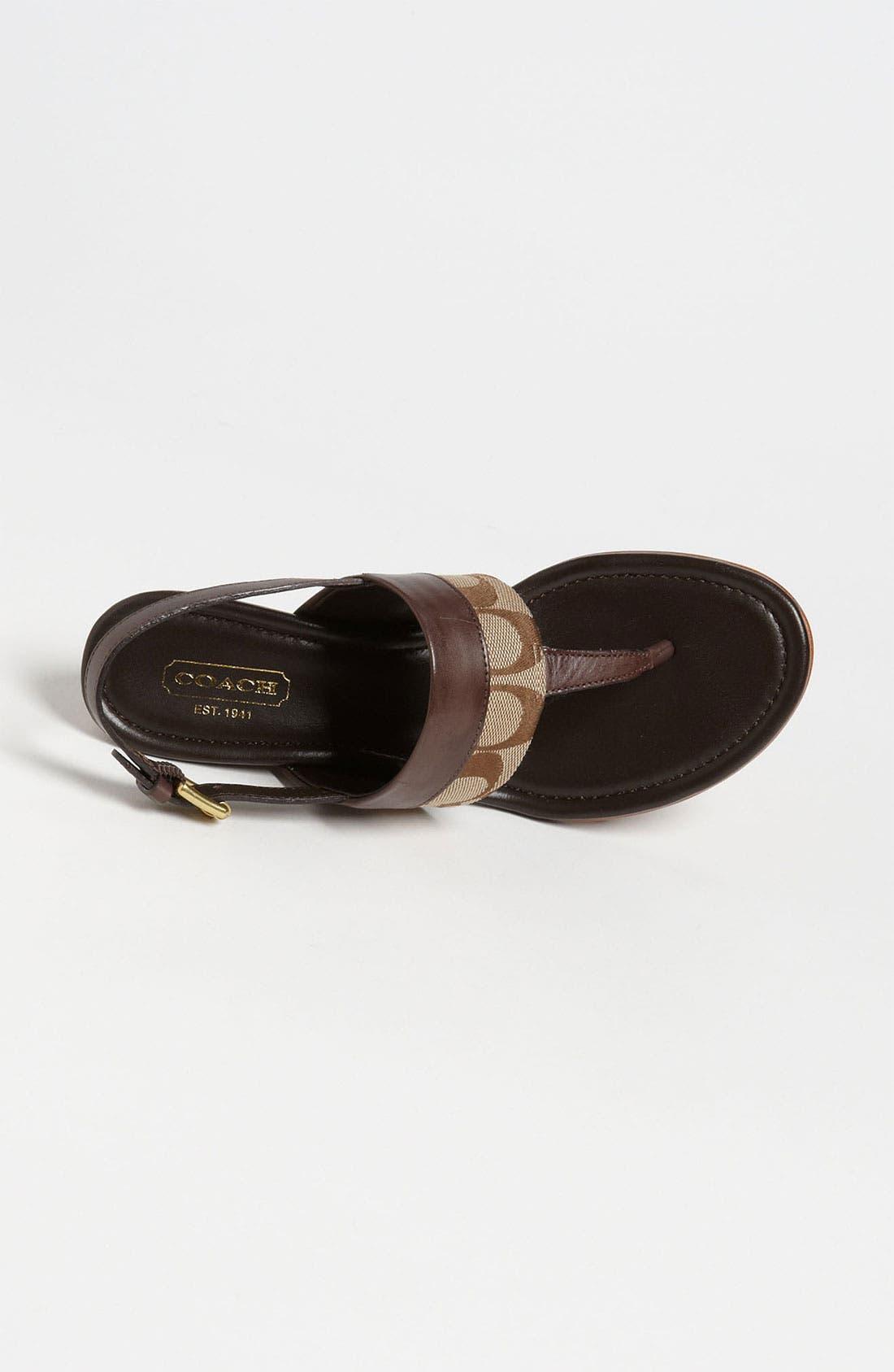 Alternate Image 3  - COACH 'Violett' Sandal