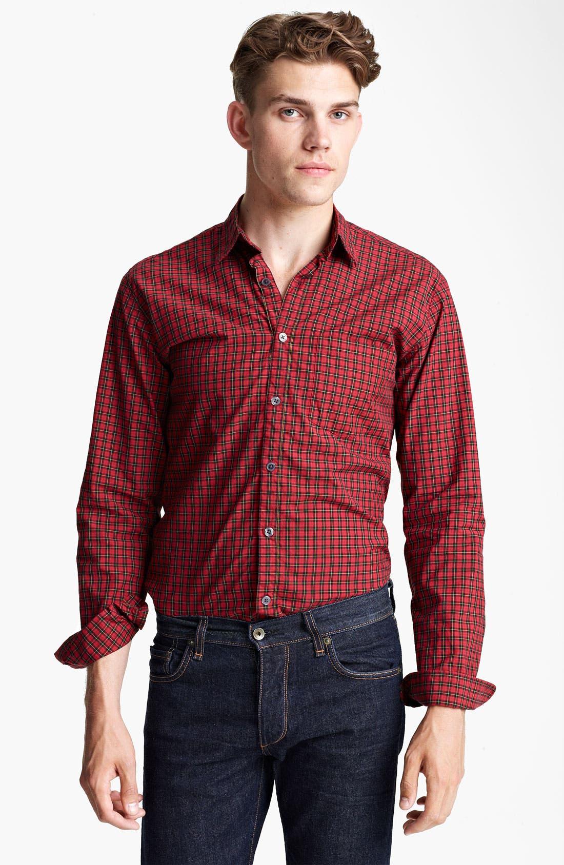 Alternate Image 1 Selected - Steven Alan Check Sport Shirt