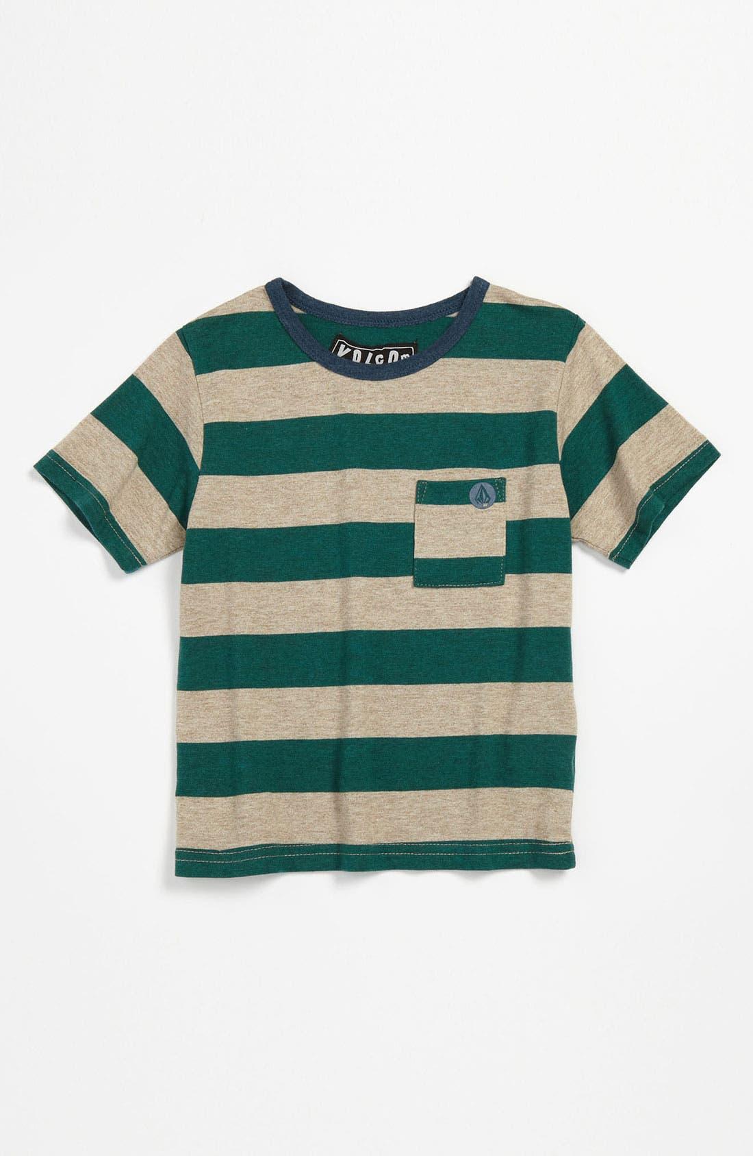 Main Image - Volcom 'Fanged Logo' T-Shirt (Toddler)