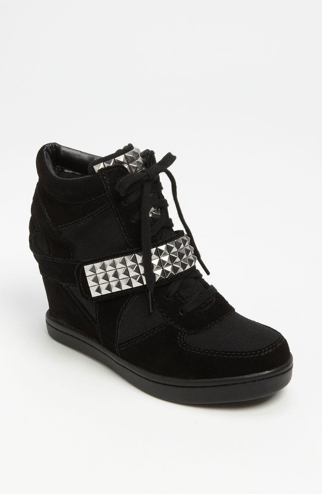 Alternate Image 1 Selected - Steve Madden 'Hamlit' Wedge Sneaker