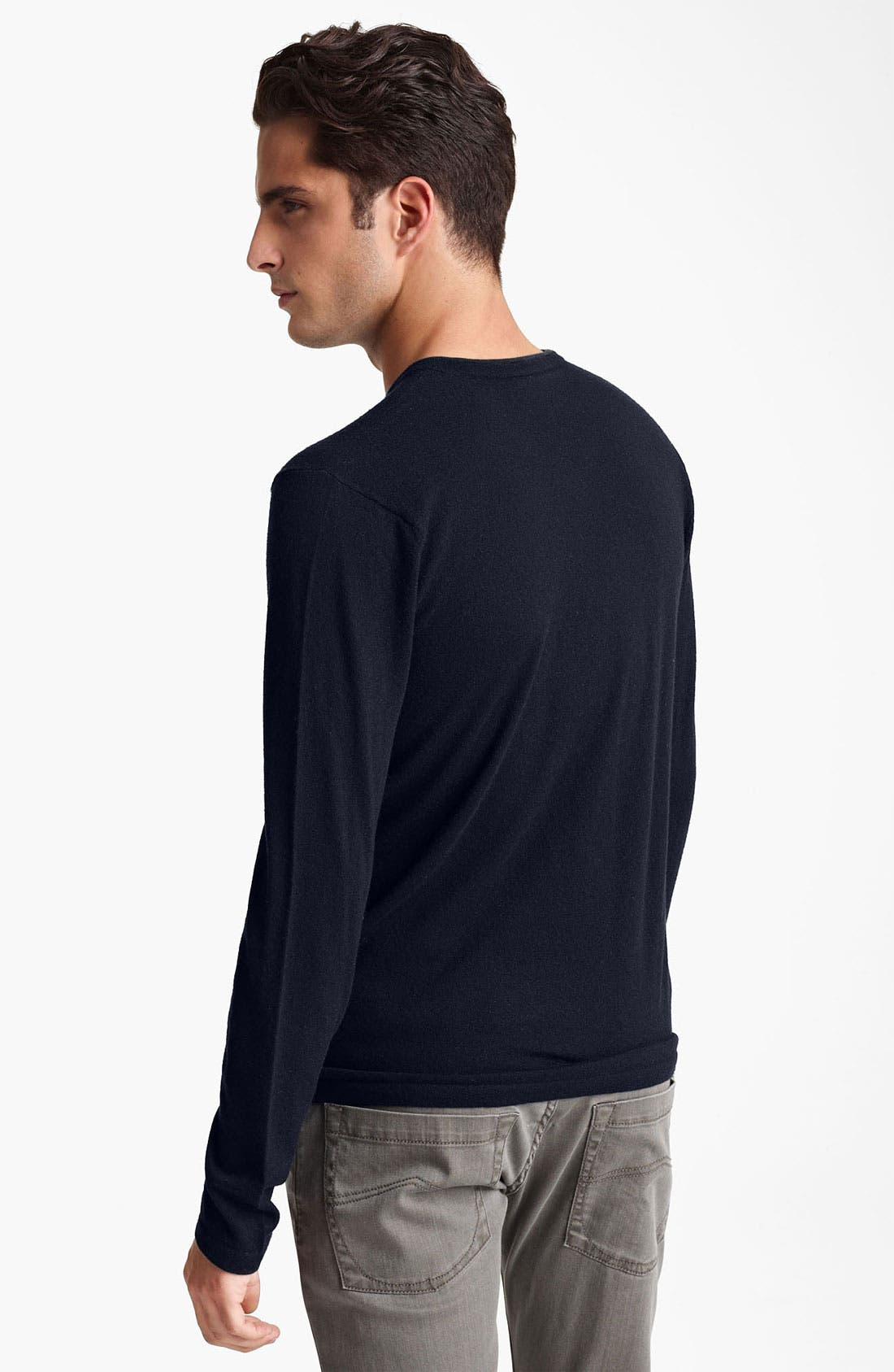Alternate Image 2  - Armani Collezioni V-Neck Cashmere Sweater