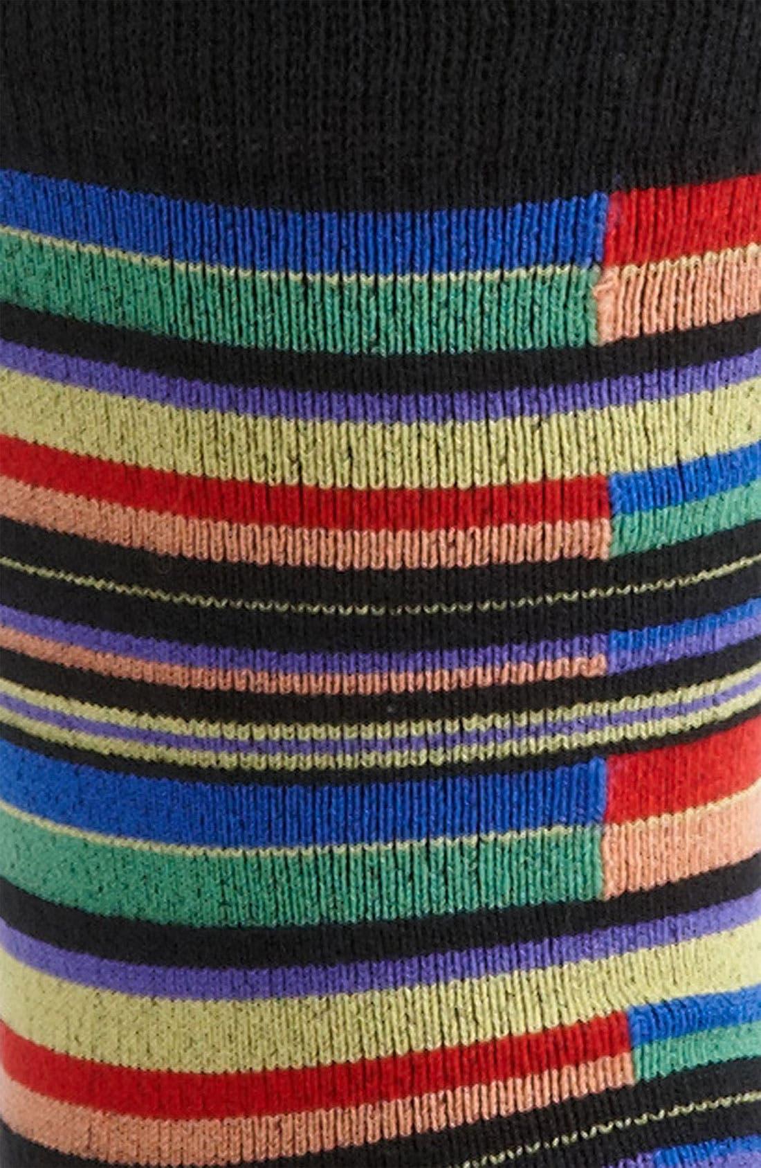 Alternate Image 2  - ugly vix by V.K. Nagrani Stripe Socks