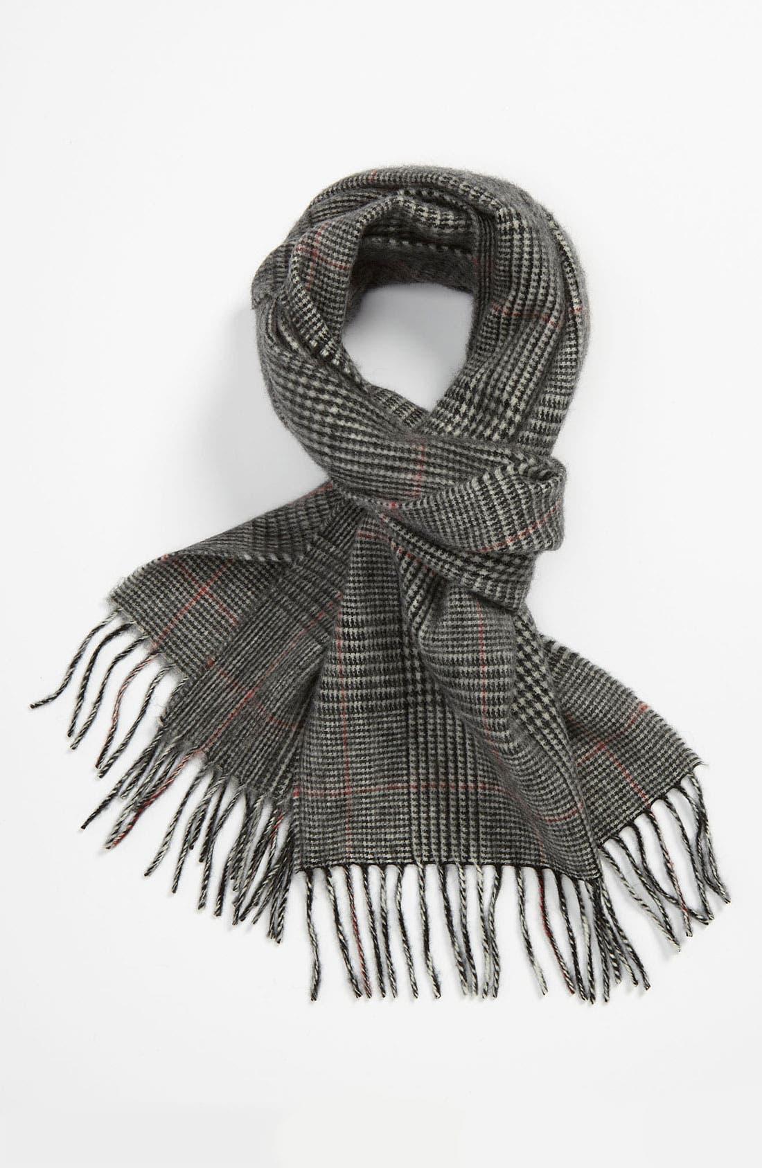 Alternate Image 1 Selected - Brooks Brothers Wool Scarf