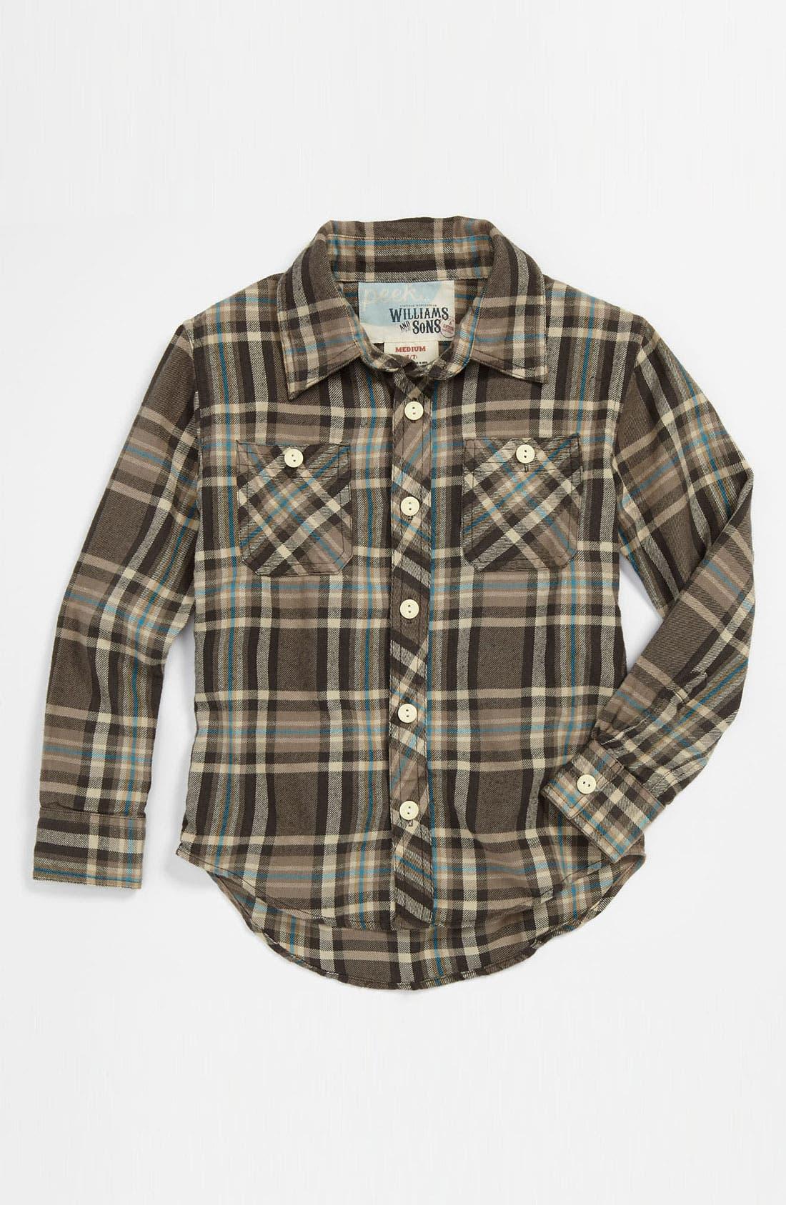 Alternate Image 1 Selected - Peek 'Parkside' Utility Shirt (Toddler, Little Boys & Big Boys)