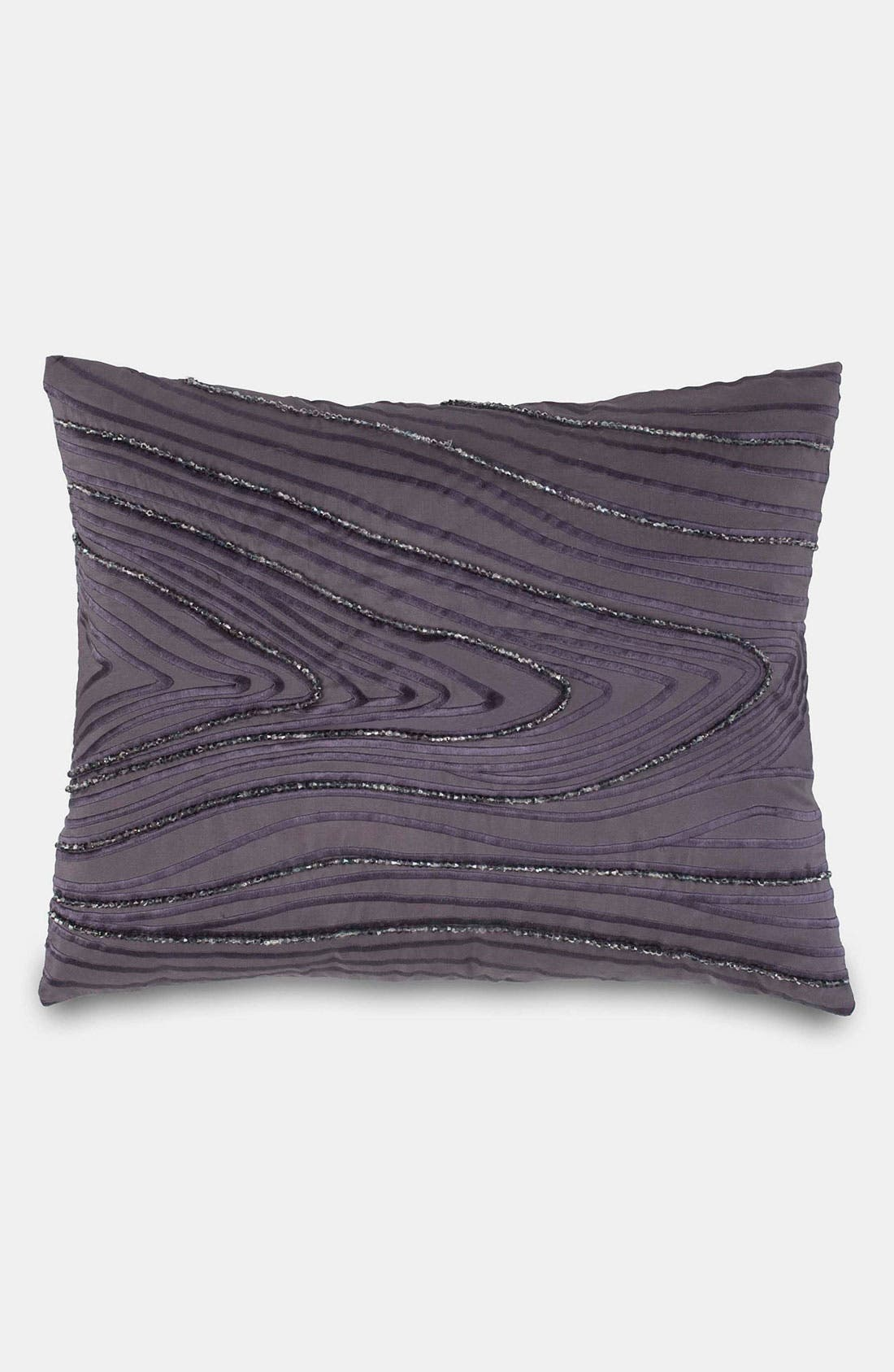 Alternate Image 1 Selected - Donna Karan 'Watermark' Beaded Silk Pillow (Online Only)