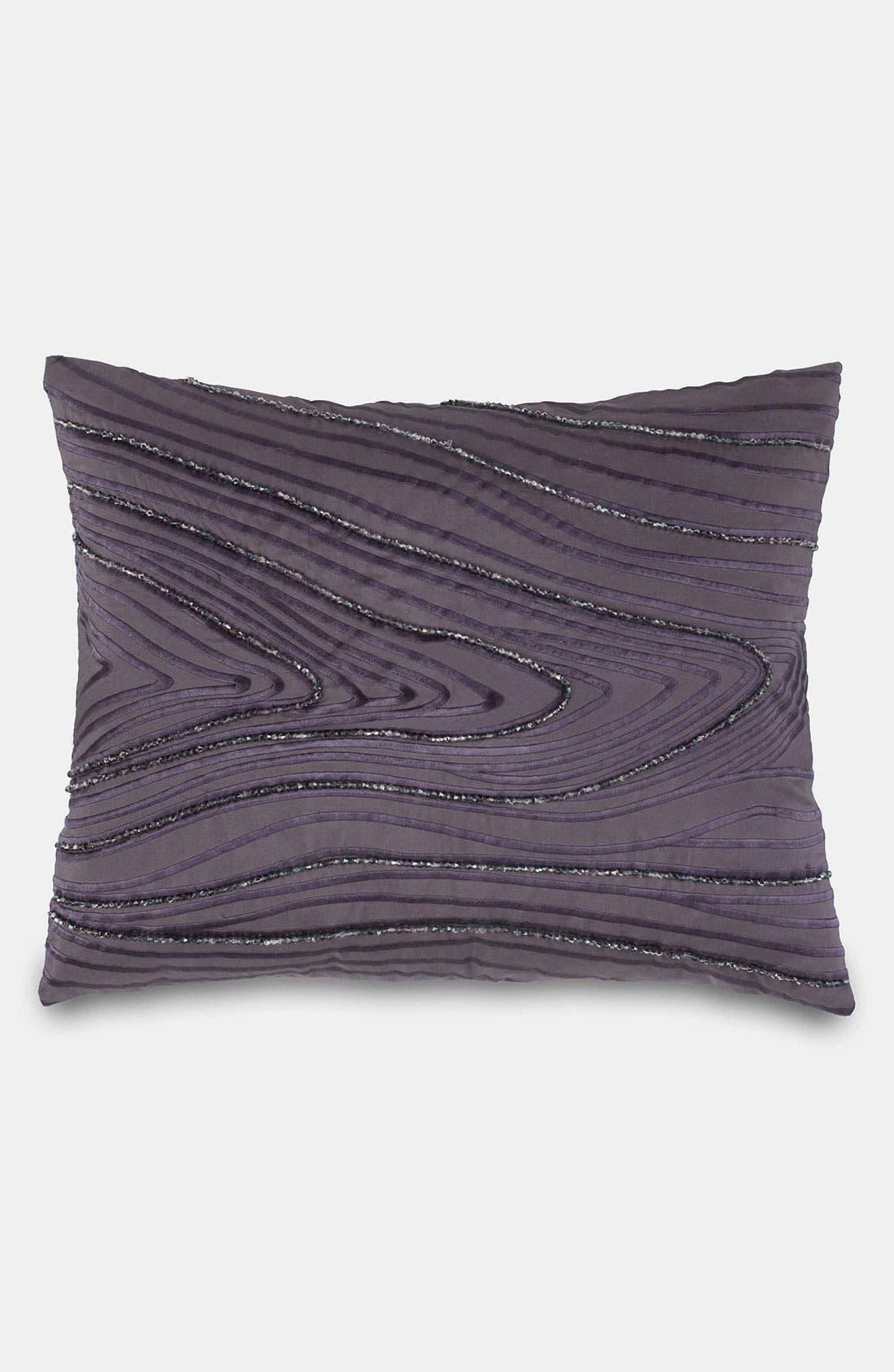 Main Image - Donna Karan 'Watermark' Beaded Silk Pillow (Online Only)