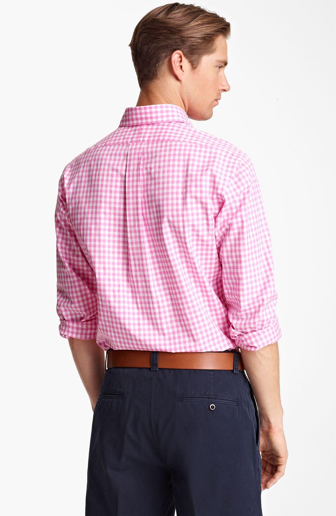 Alternate Image 2  - Polo Ralph Lauren Custom Fit Sport Shirt