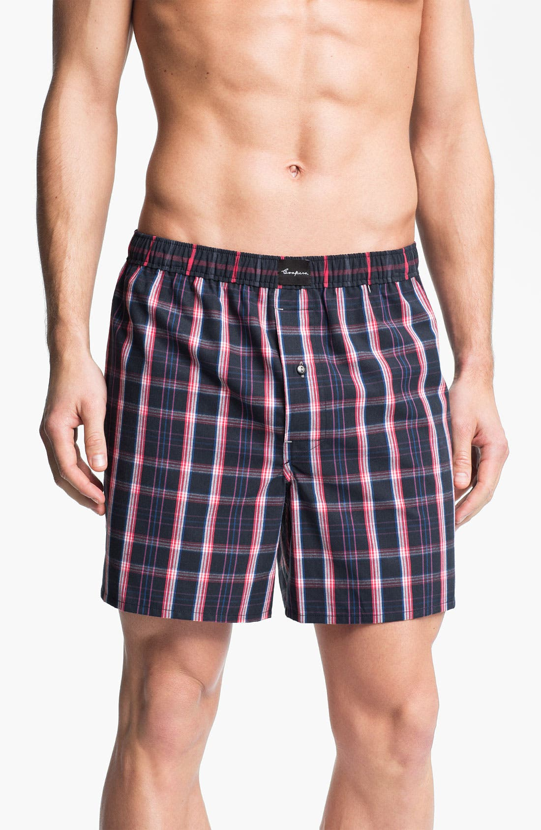 Alternate Image 1 Selected - Coopers by Jockey® Woven Boxer Shorts
