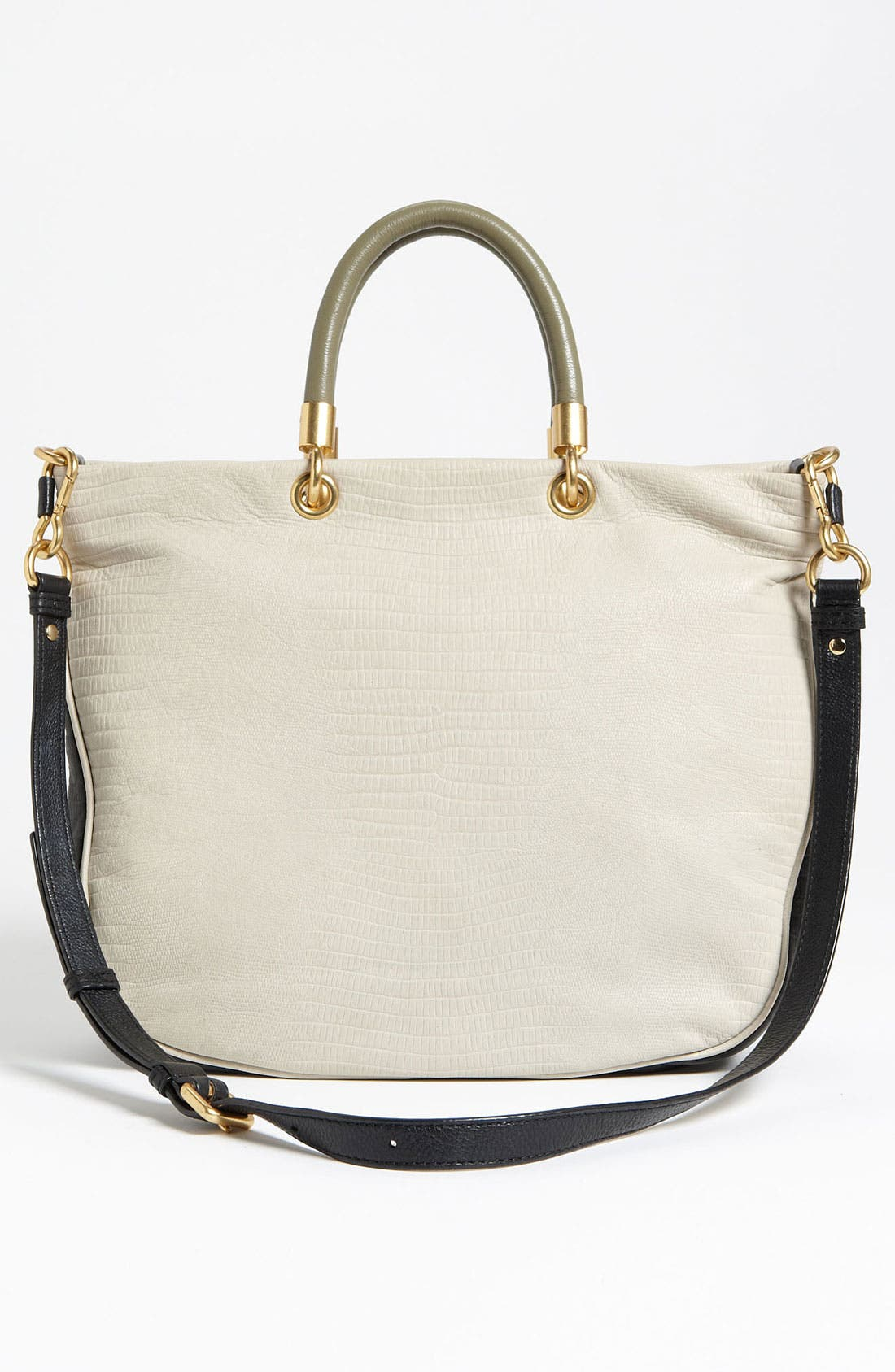 Alternate Image 4  - MARC BY MARC JACOBS 'Too Hot to Handle - Mini' Embossed Colorblock Shopper
