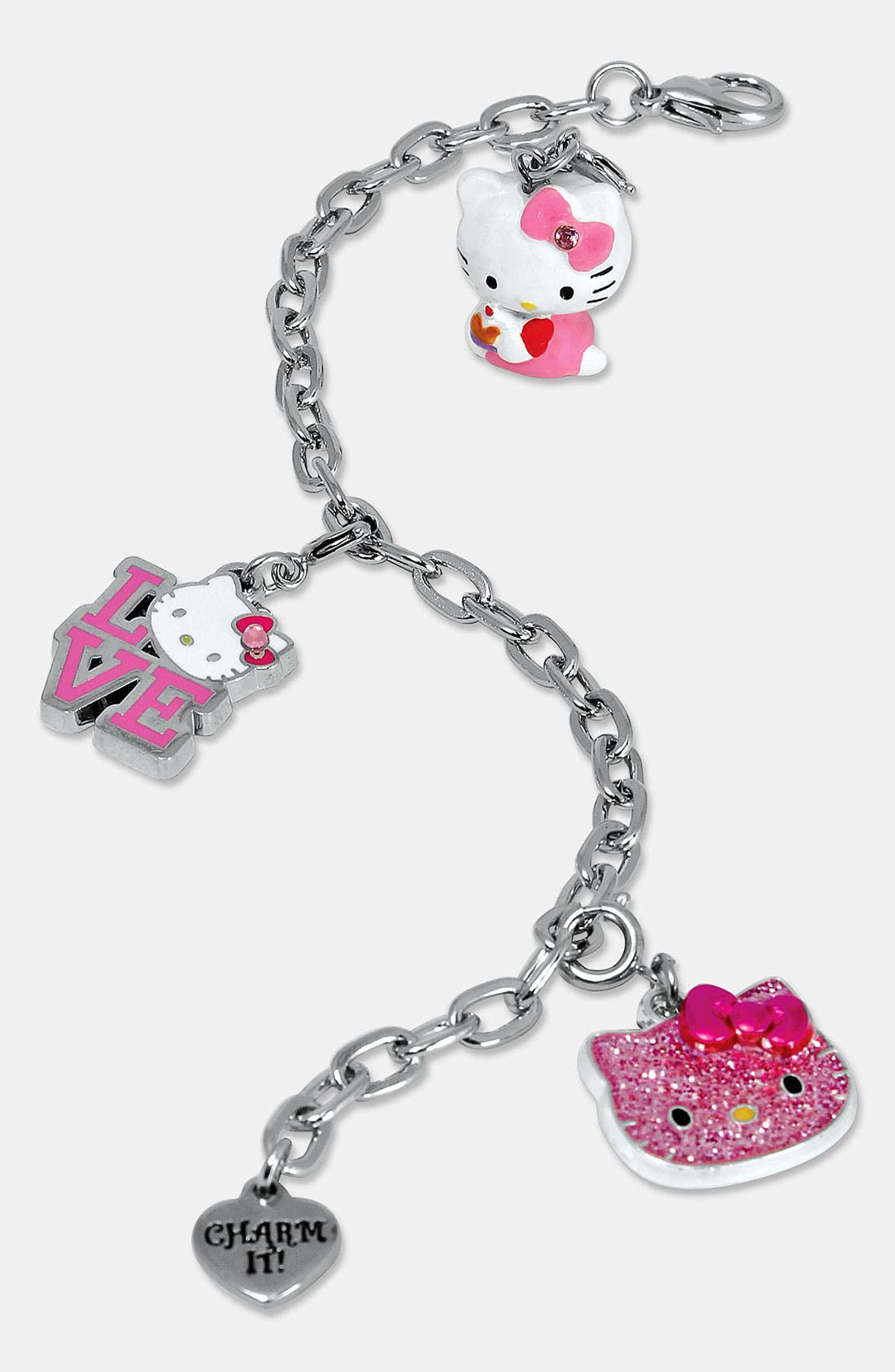 Alternate Image 1 Selected - CHARM IT!® 'Hello Kitty®' Charm Bracelet (Girls)