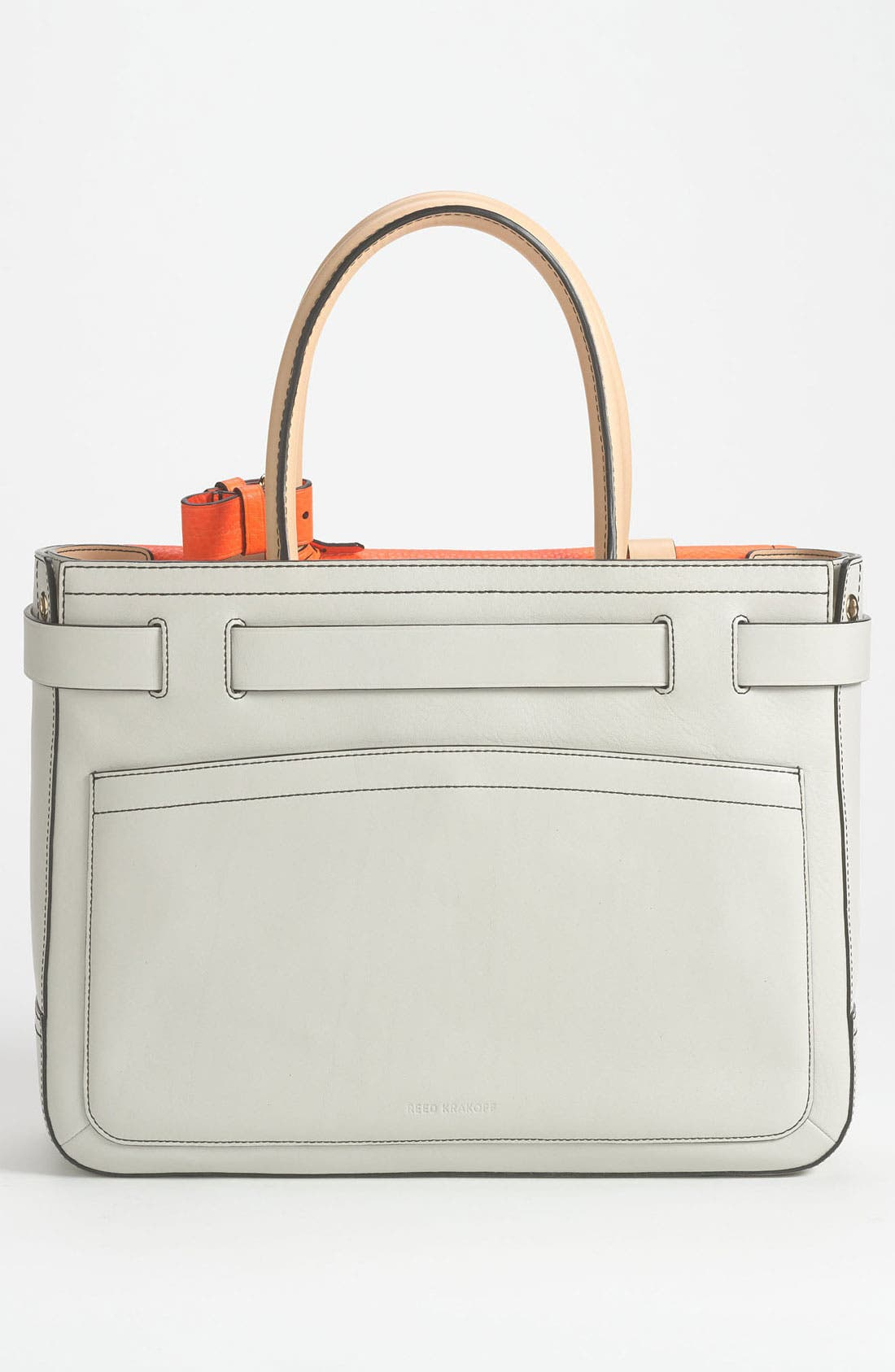 Alternate Image 4  - Reed Krakoff 'Boxer' Perforated Leather Satchel
