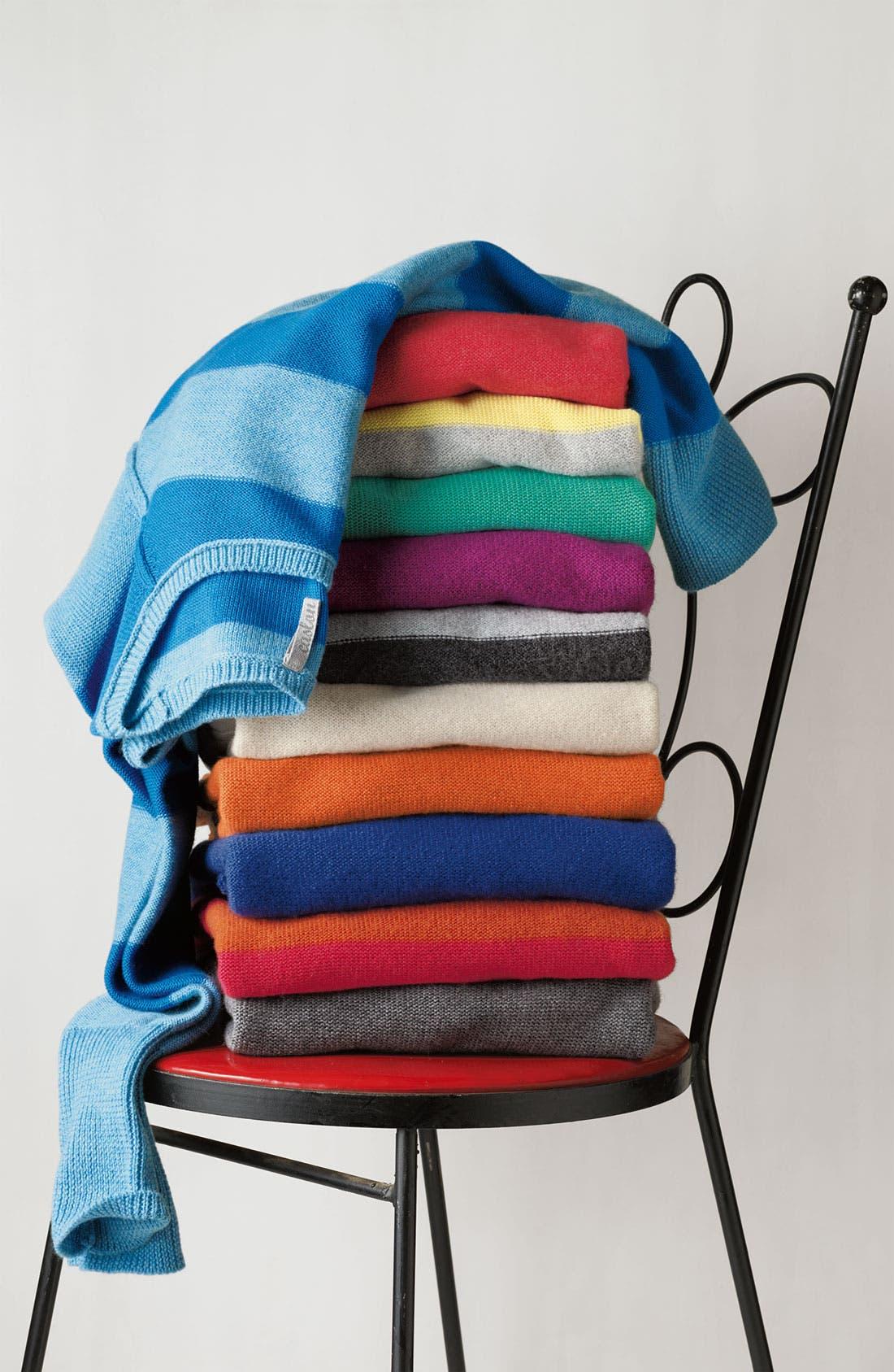 Alternate Image 2  - Caslon® Bateau Neck Sweater