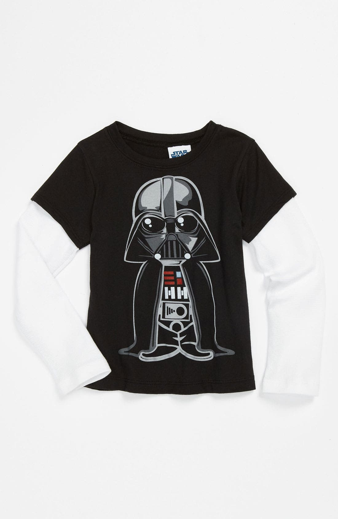 Alternate Image 1 Selected - Mighty Fine 'Cute Vader™' T-Shirt (Toddler)