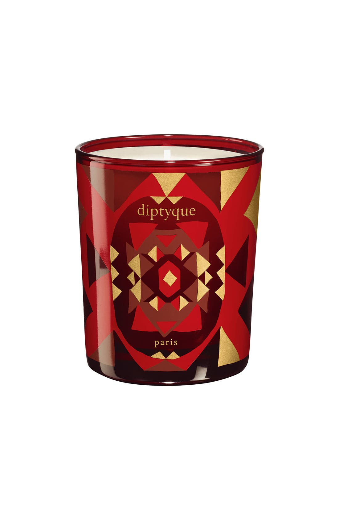 Main Image - diptyque 'Amber Oud' Mini Holiday Candle