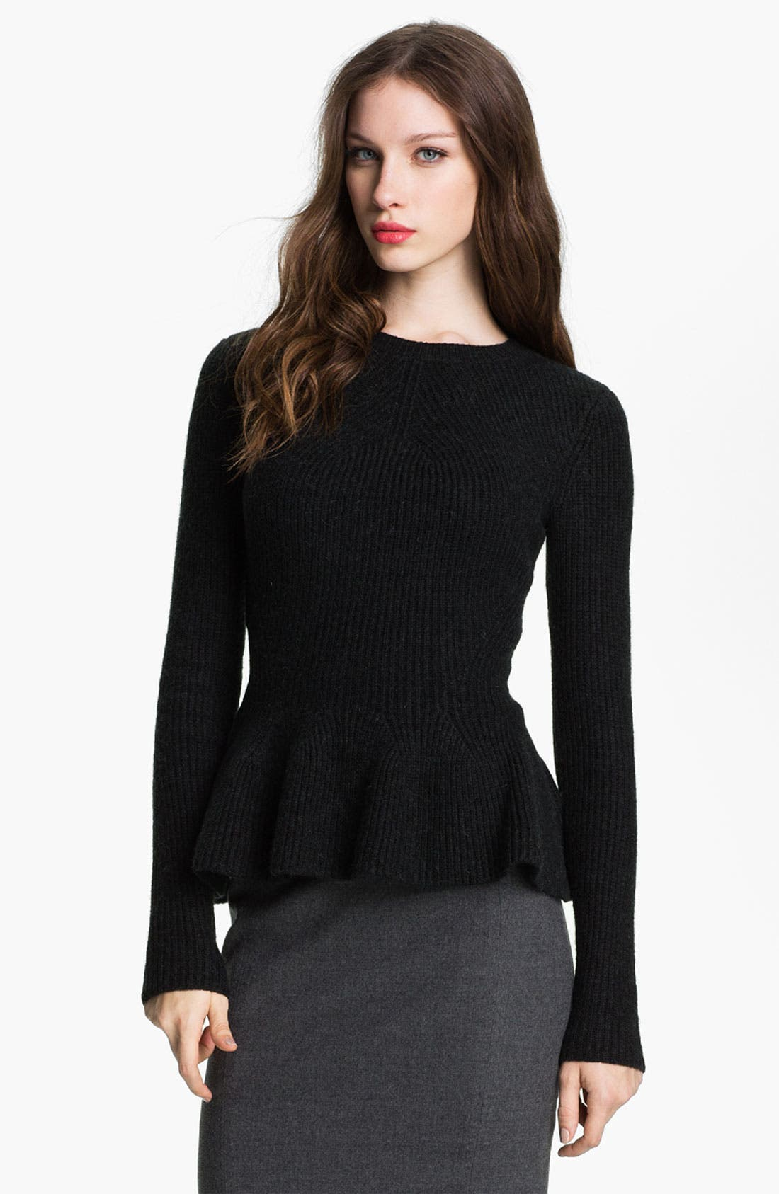 Alternate Image 1 Selected - Ted Baker London Peplum Sweater