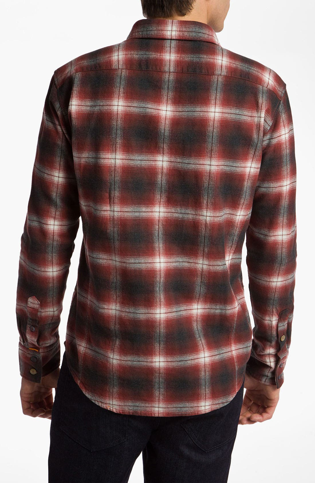Alternate Image 2  - BOSS Orange 'Eddaiee' Plaid Flannel Shirt