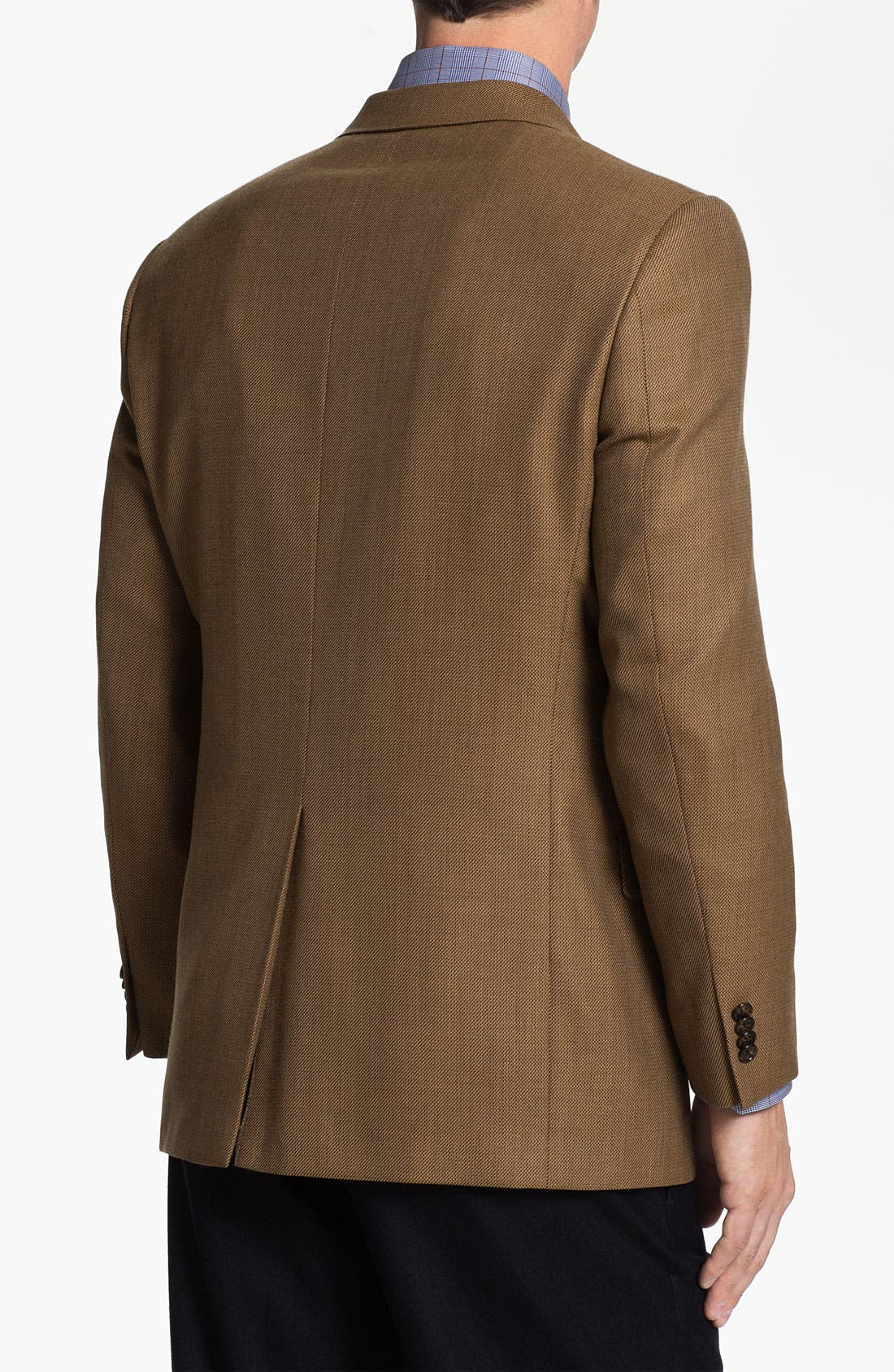 Alternate Image 2  - Hart Schaffner Marx Worsted Wool Blazer
