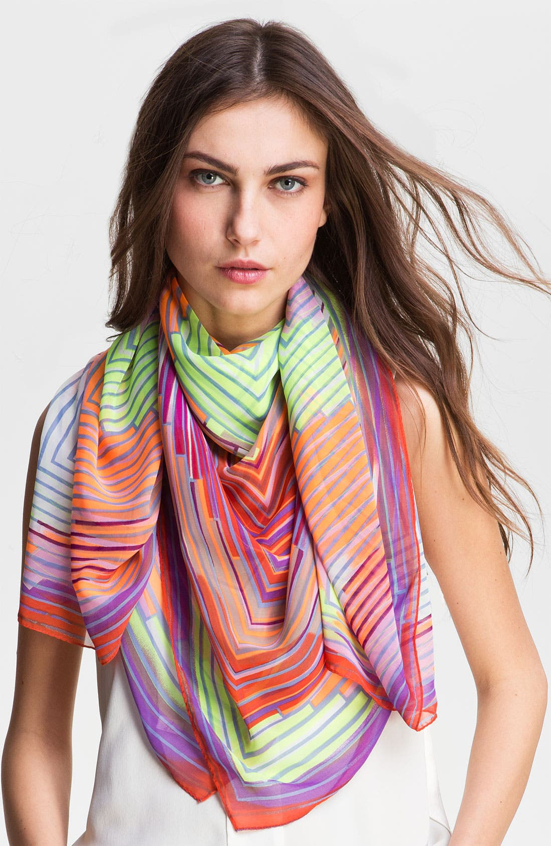 Alternate Image 1 Selected - Collection XIIX 'Vortex' Stripe Scarf