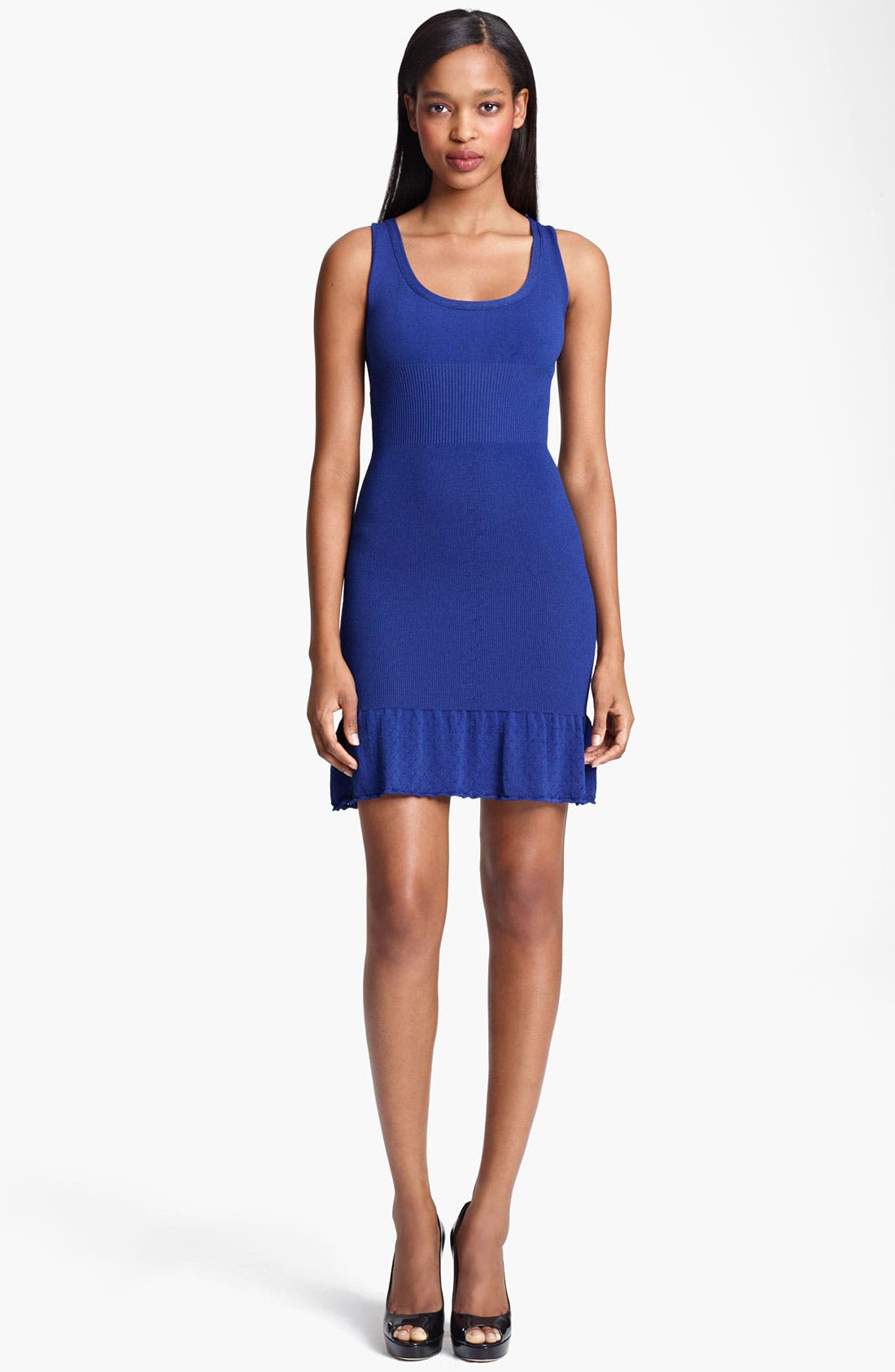 Alternate Image 1 Selected - Moschino Cheap & Chic Flared Hem Knit Dress