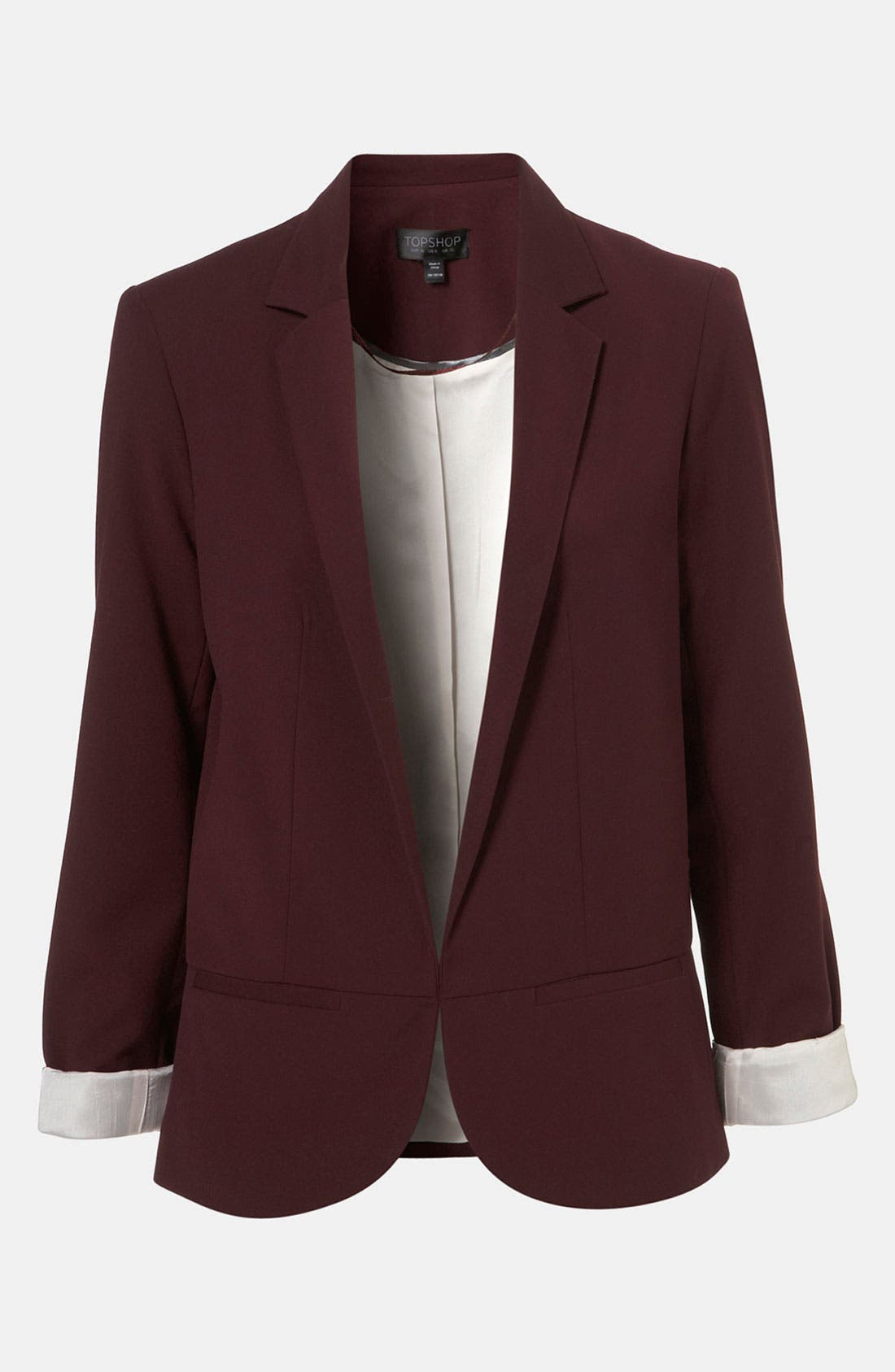 Alternate Image 1 Selected - Topshop 'Matty' Blazer