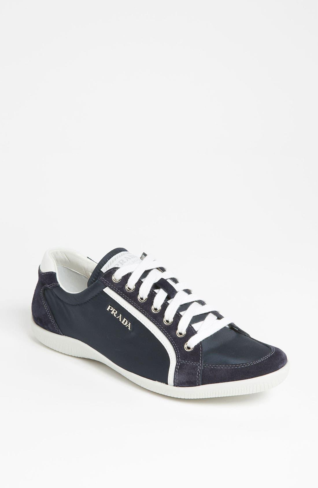 Alternate Image 1 Selected - Prada Nylon Sneaker