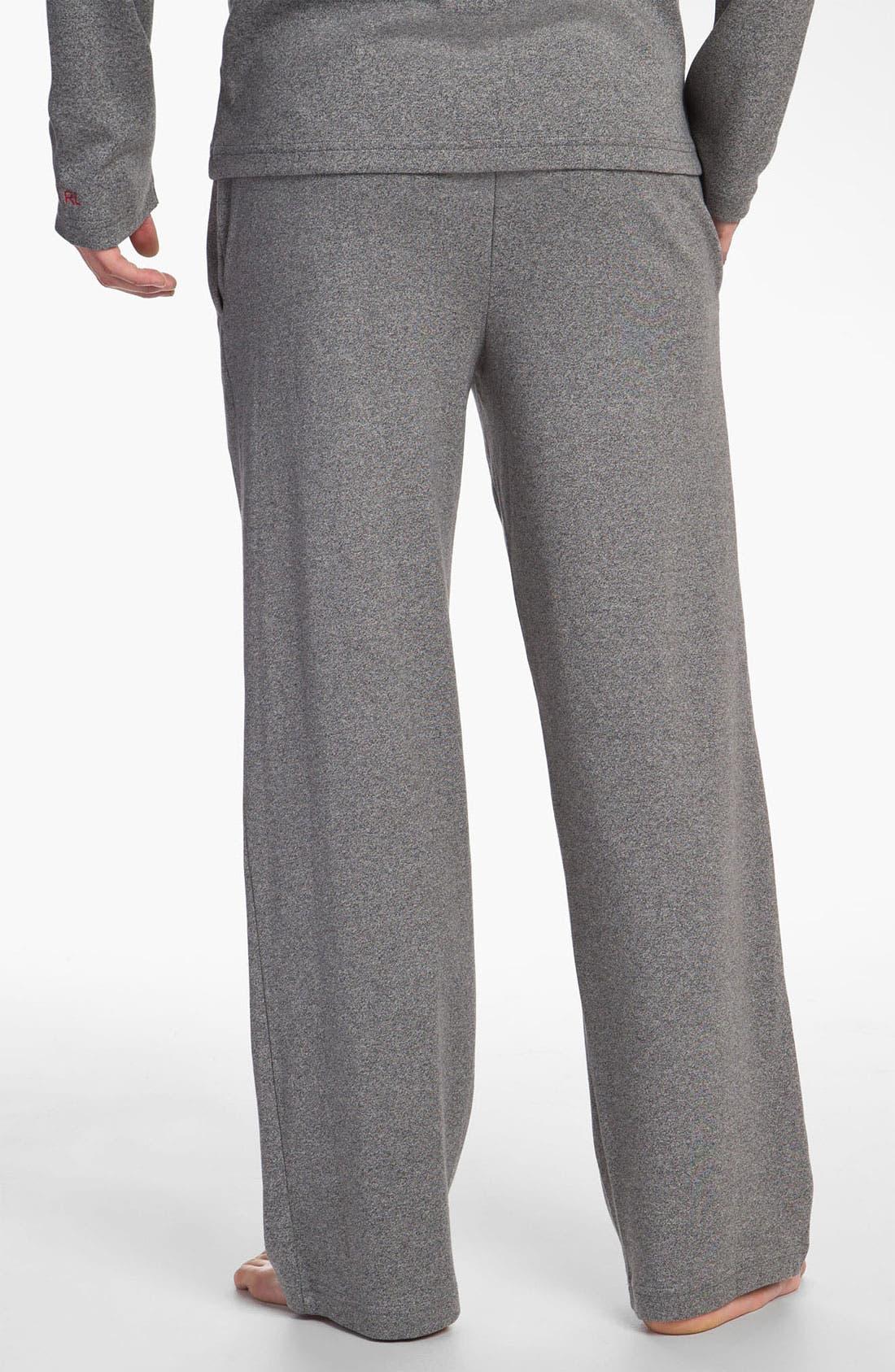 Alternate Image 2  - Polo Ralph Lauren Cotton & Modal Lounge Pants