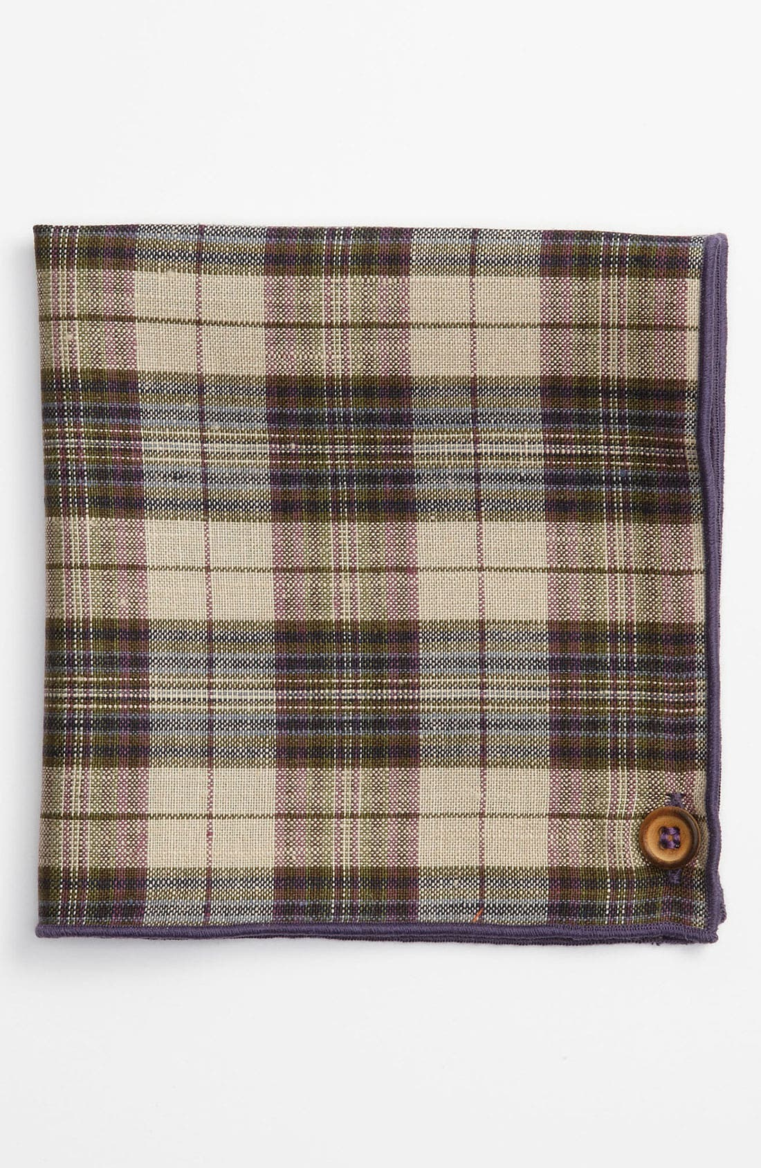 Alternate Image 1 Selected - Armstrong & Wilson Linen Pocket Square