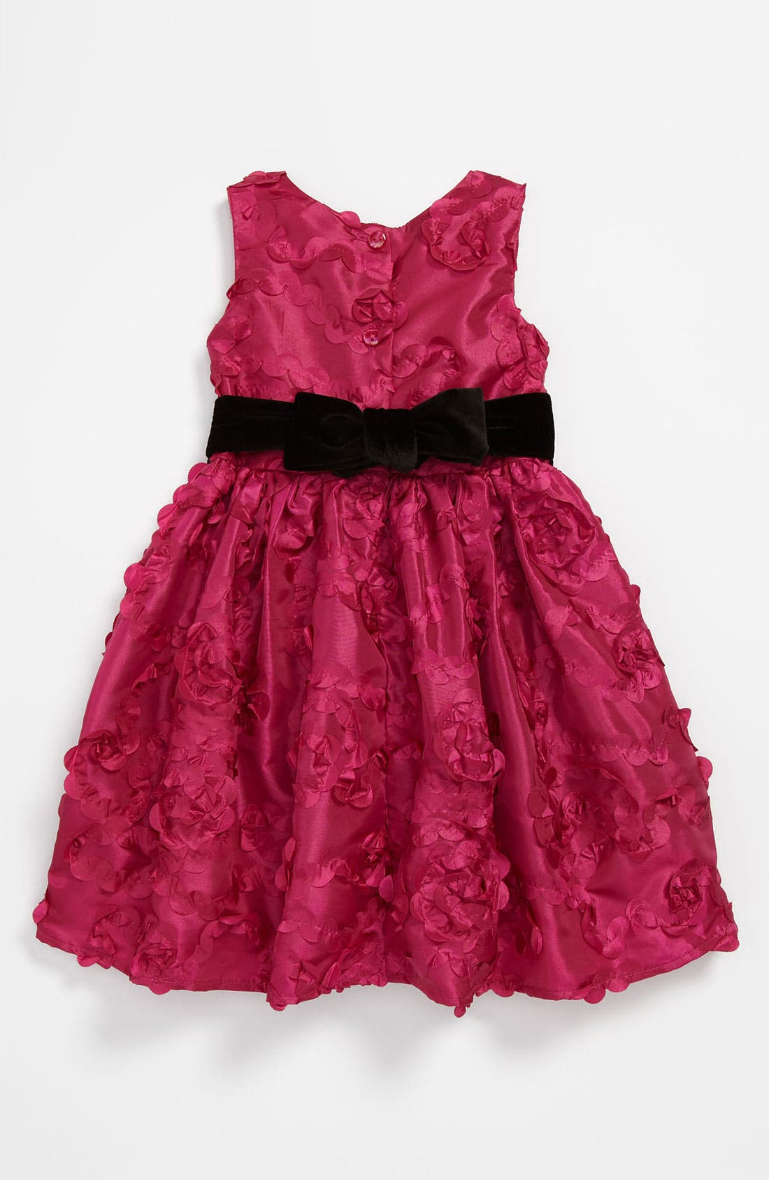 Alternate Image 2  - Sweet Heart Rose Sleeveless Dress (Toddler)