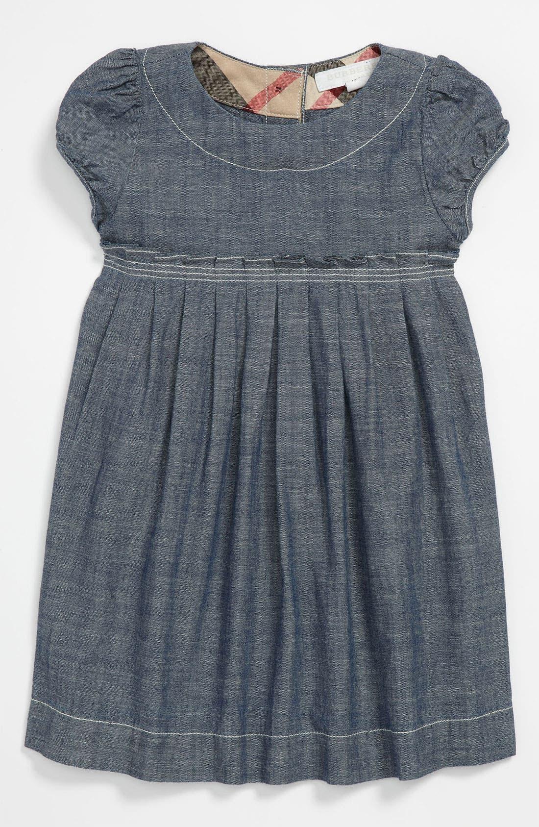 Main Image - Burberry 'Coralie' Dress (Infant)