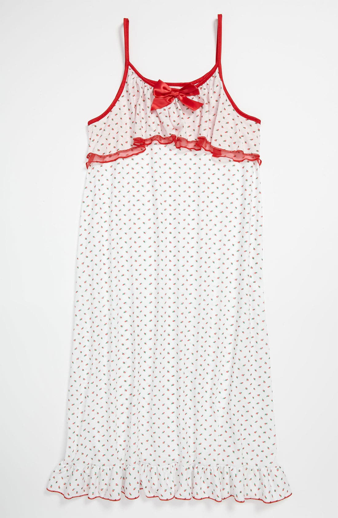 Alternate Image 1 Selected - Laura Dare 'Rosebud' Nightgown (Big Girls)