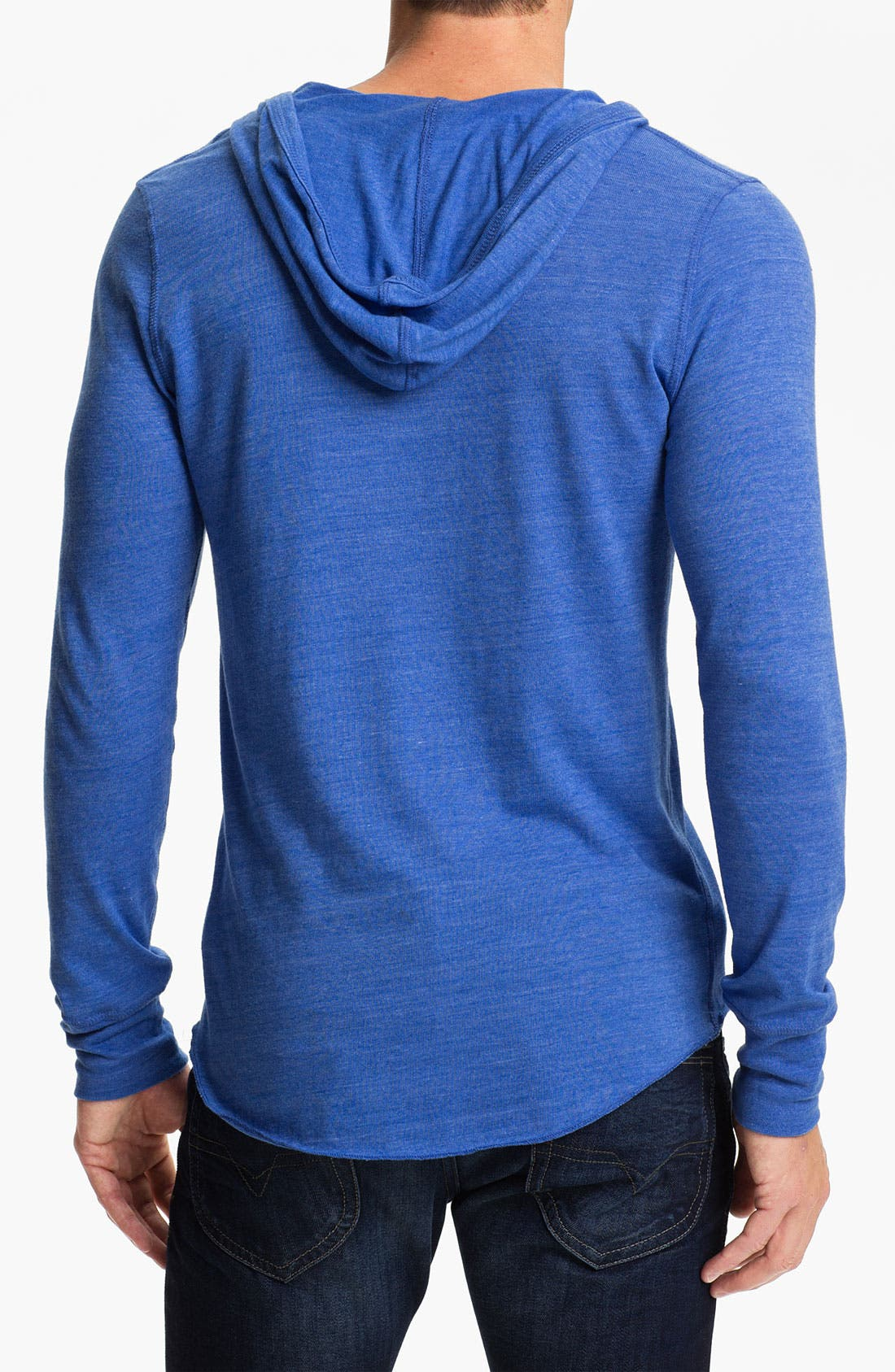Alternate Image 2  - Alternative Heathered Pullover