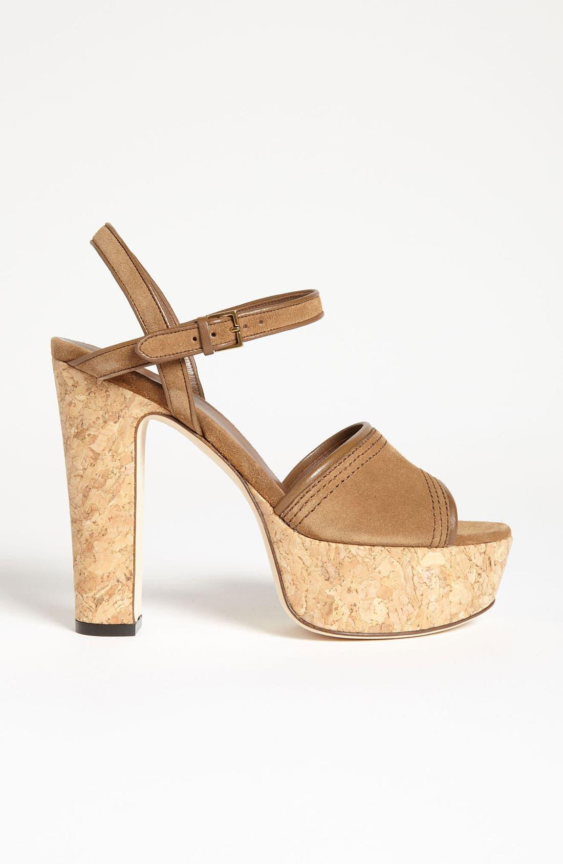 Alternate Image 4  - Gucci 'Danielle' Platform Sandal