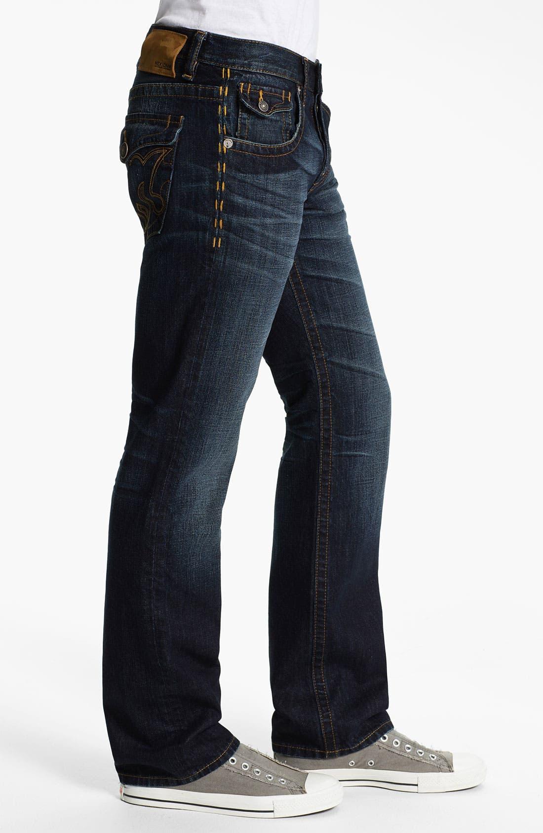 Alternate Image 3  - MEK Denim 'Tucker' Straight Leg Jeans (Chandler)