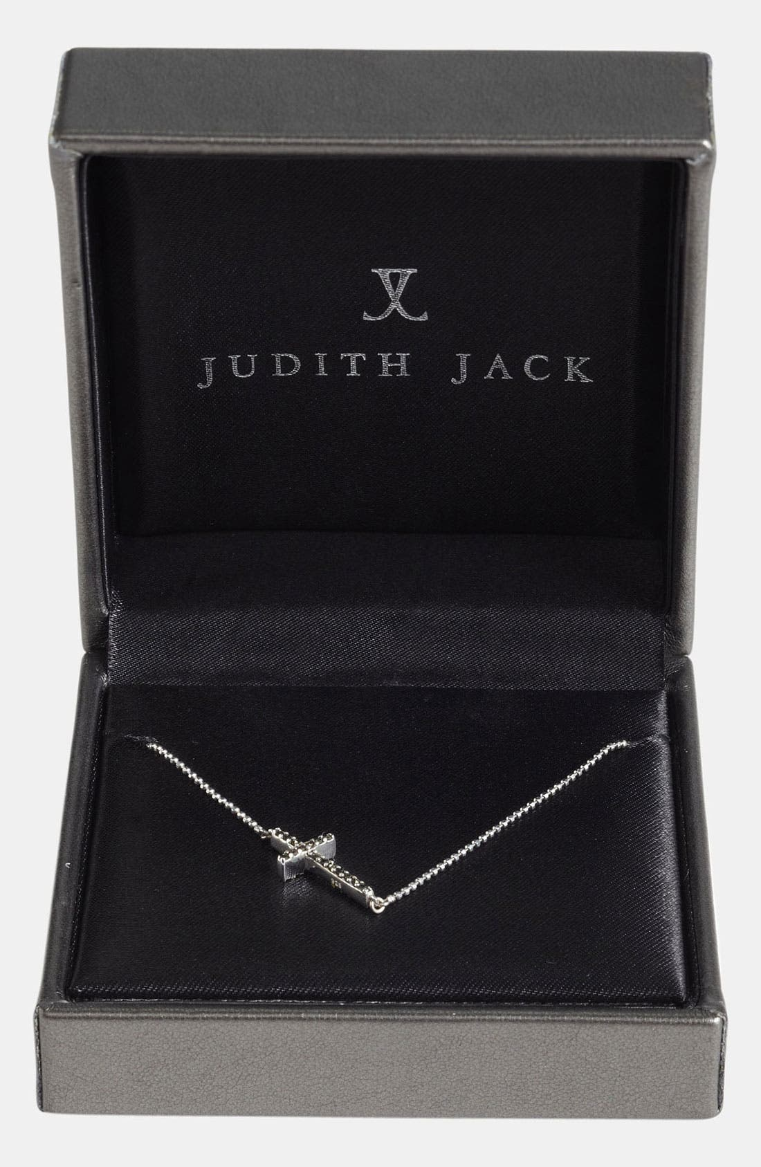 Alternate Image 3  - Judith Jack Reversible Pavé Cross Pendant Necklace