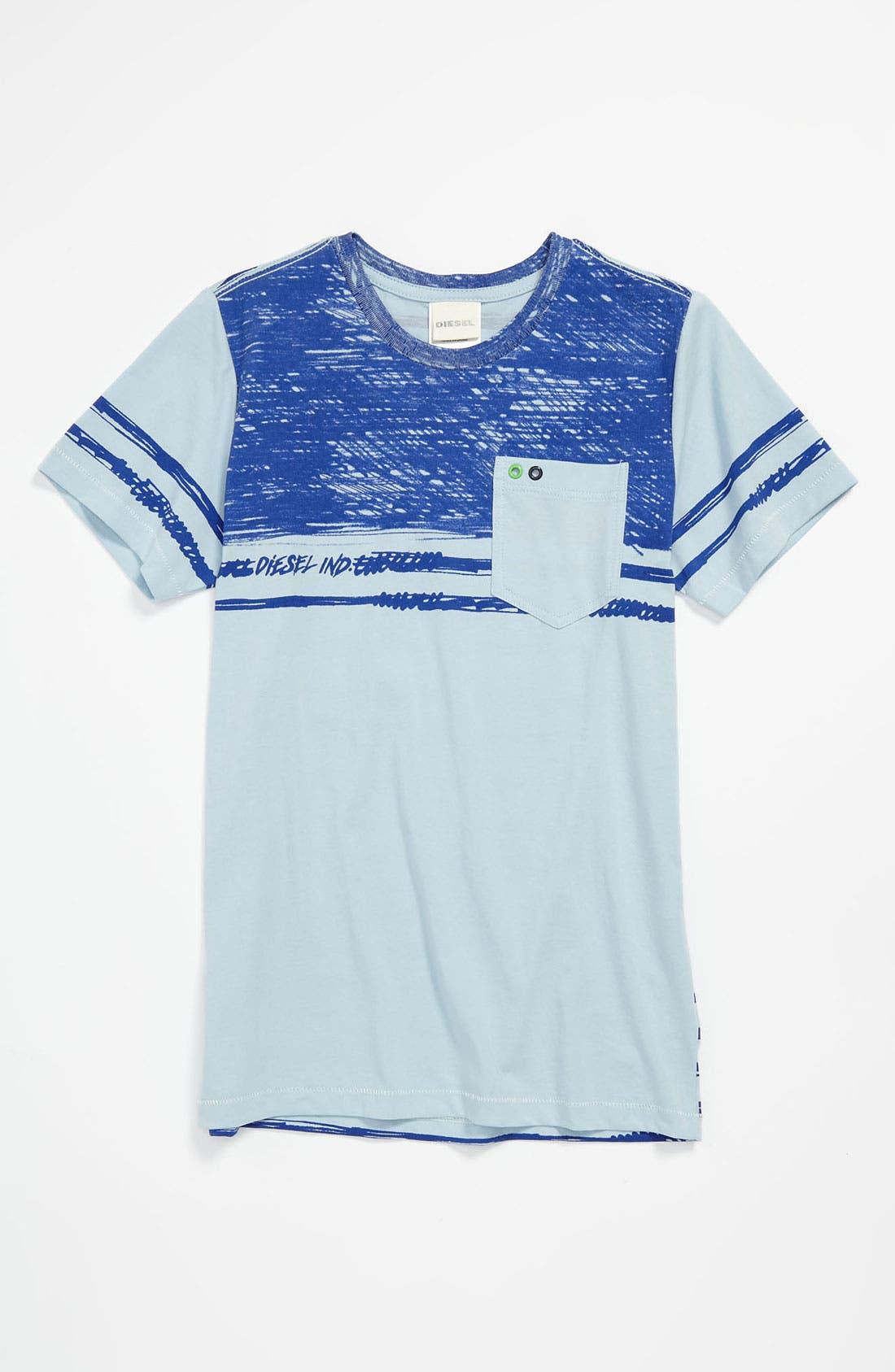 Alternate Image 1 Selected - DIESEL® 'Tailo' T-Shirt (Big Boys)