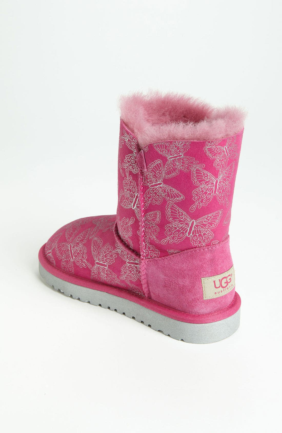 Alternate Image 2  - UGG® Australia 'Bailey Button - Butterfly' Boot (Walker, Toddler, Little Kid & Big Kid)