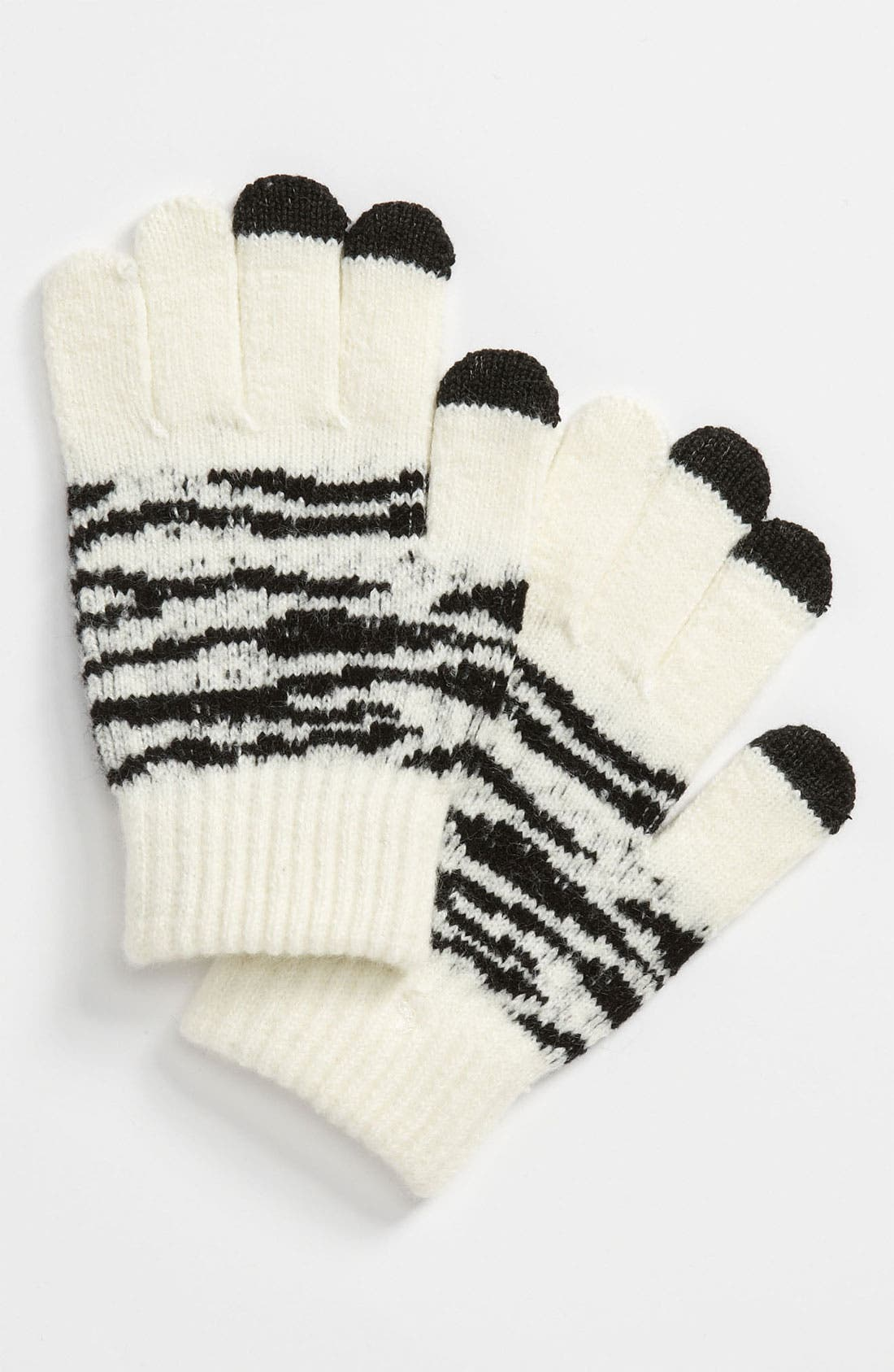 Main Image - The Accessory Collective Tech Tip Gloves (Girls)