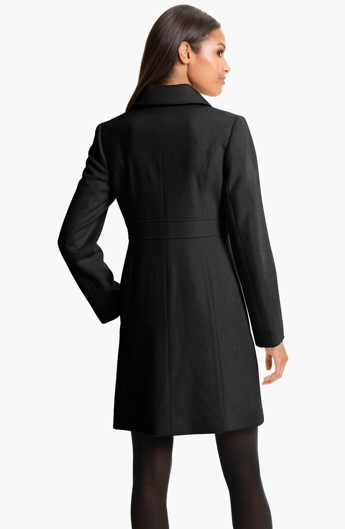 Alternate Image 2  - Fleurette Loro Piana Wool Coat