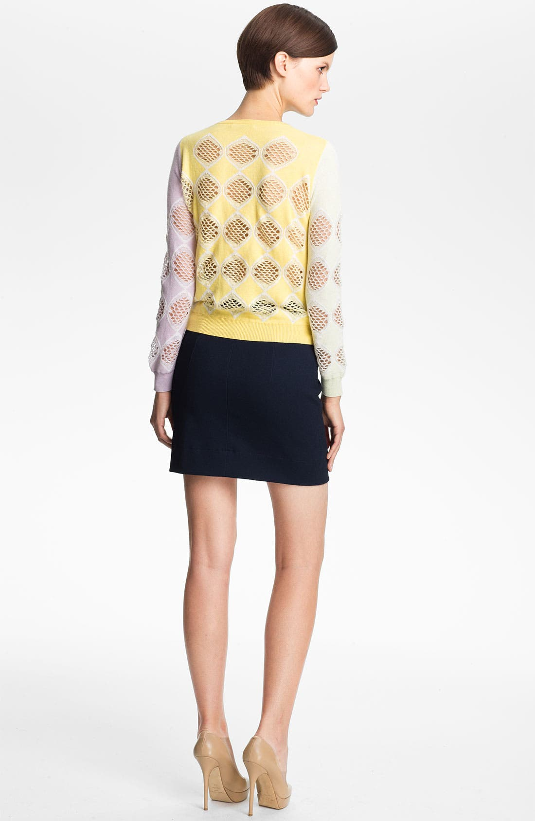 Alternate Image 2  - Carven Jacquard Knit Sweater