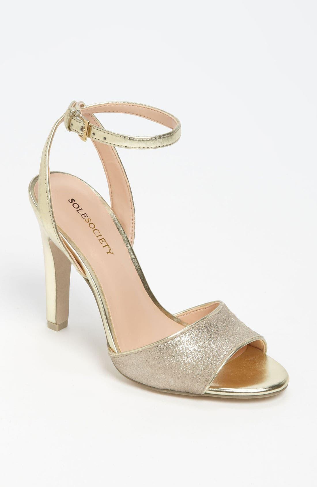 Alternate Image 1 Selected - Sole Society 'Kimberlee' Sandal