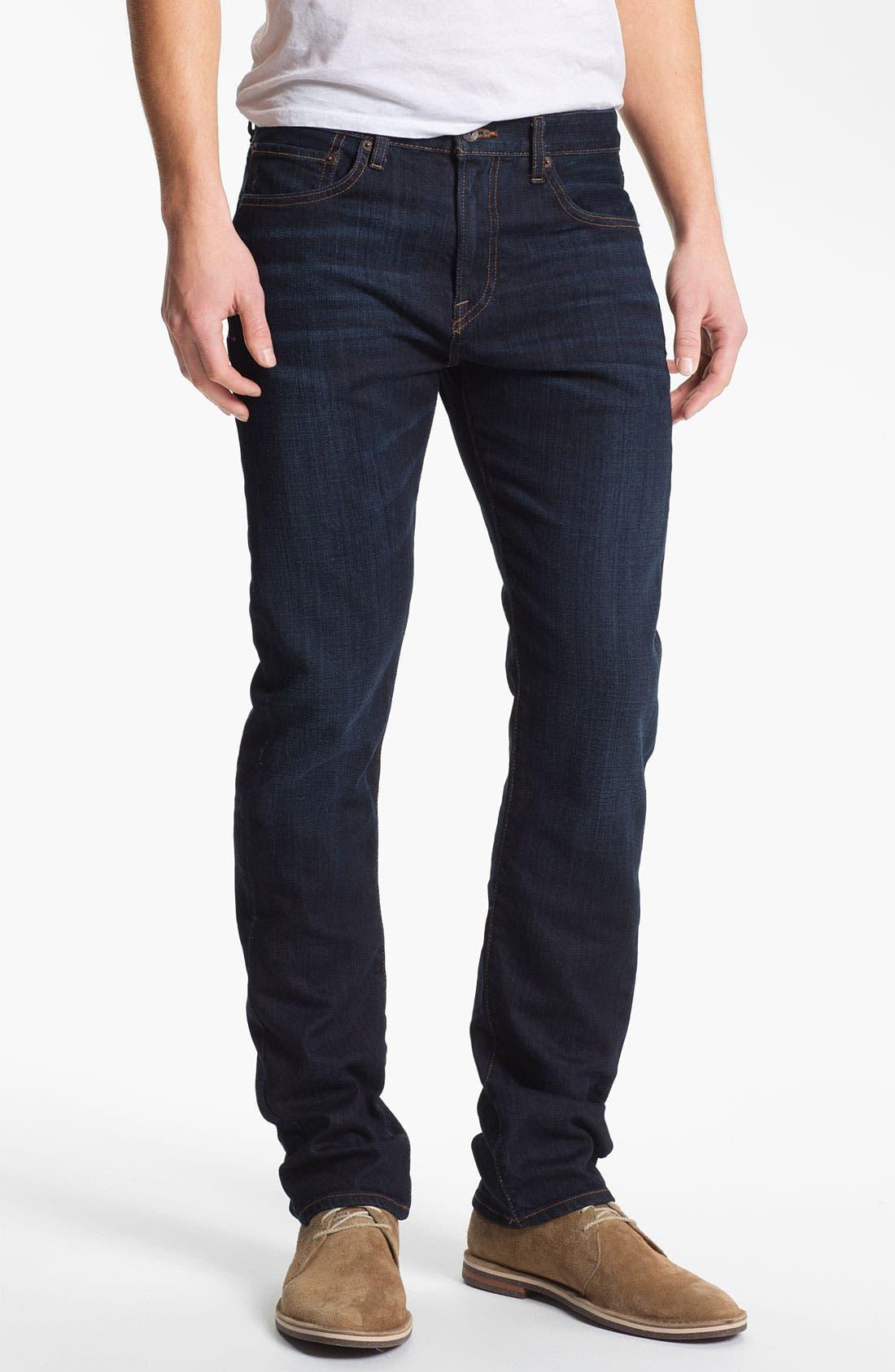 Main Image - Lucky Brand 'Dean' Straight Leg Jeans (Dark Stevie) (Online Only)