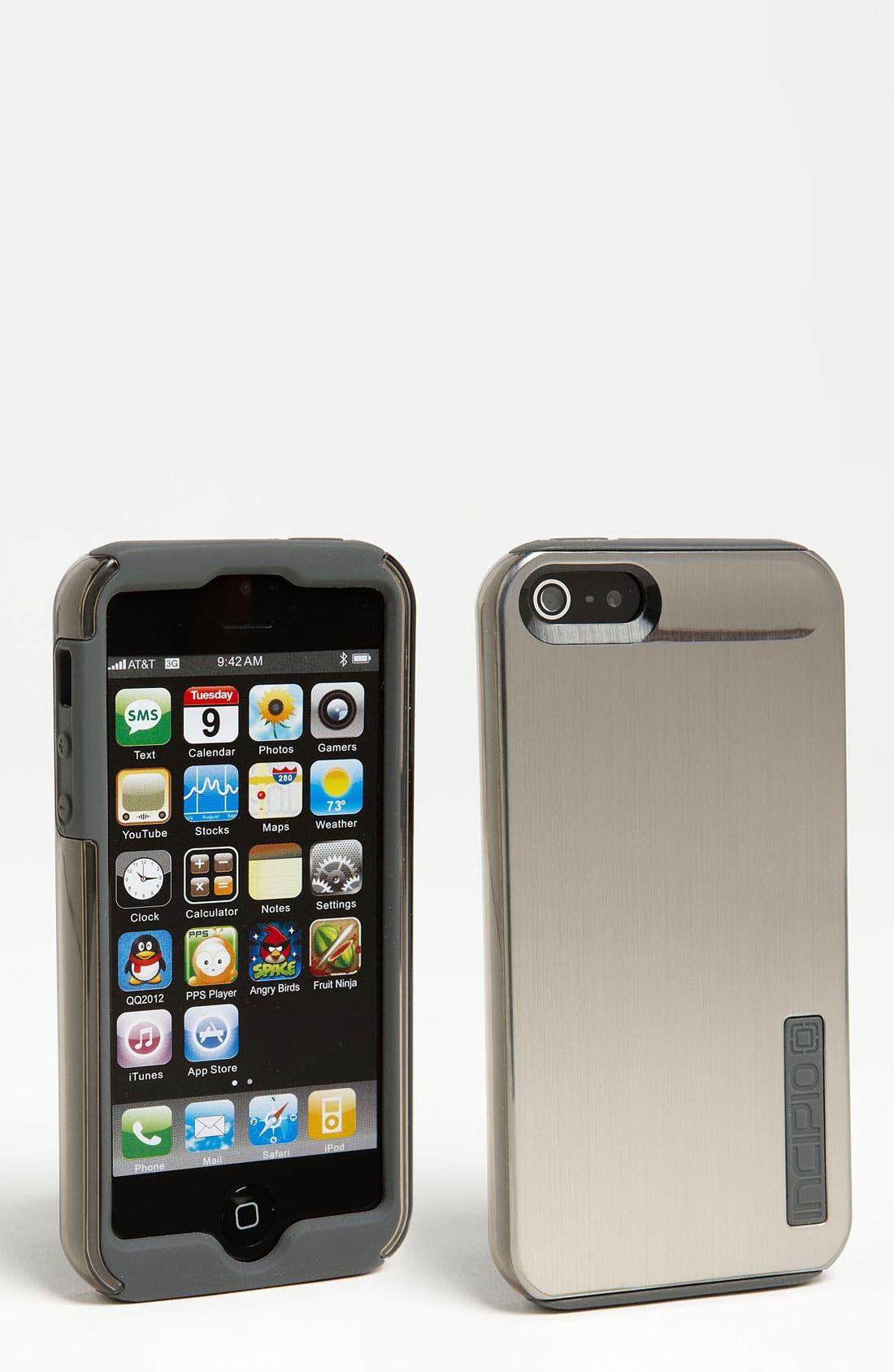 Alternate Image 1 Selected - Incipio 'Dualpro Shine' iPhone 5 Case