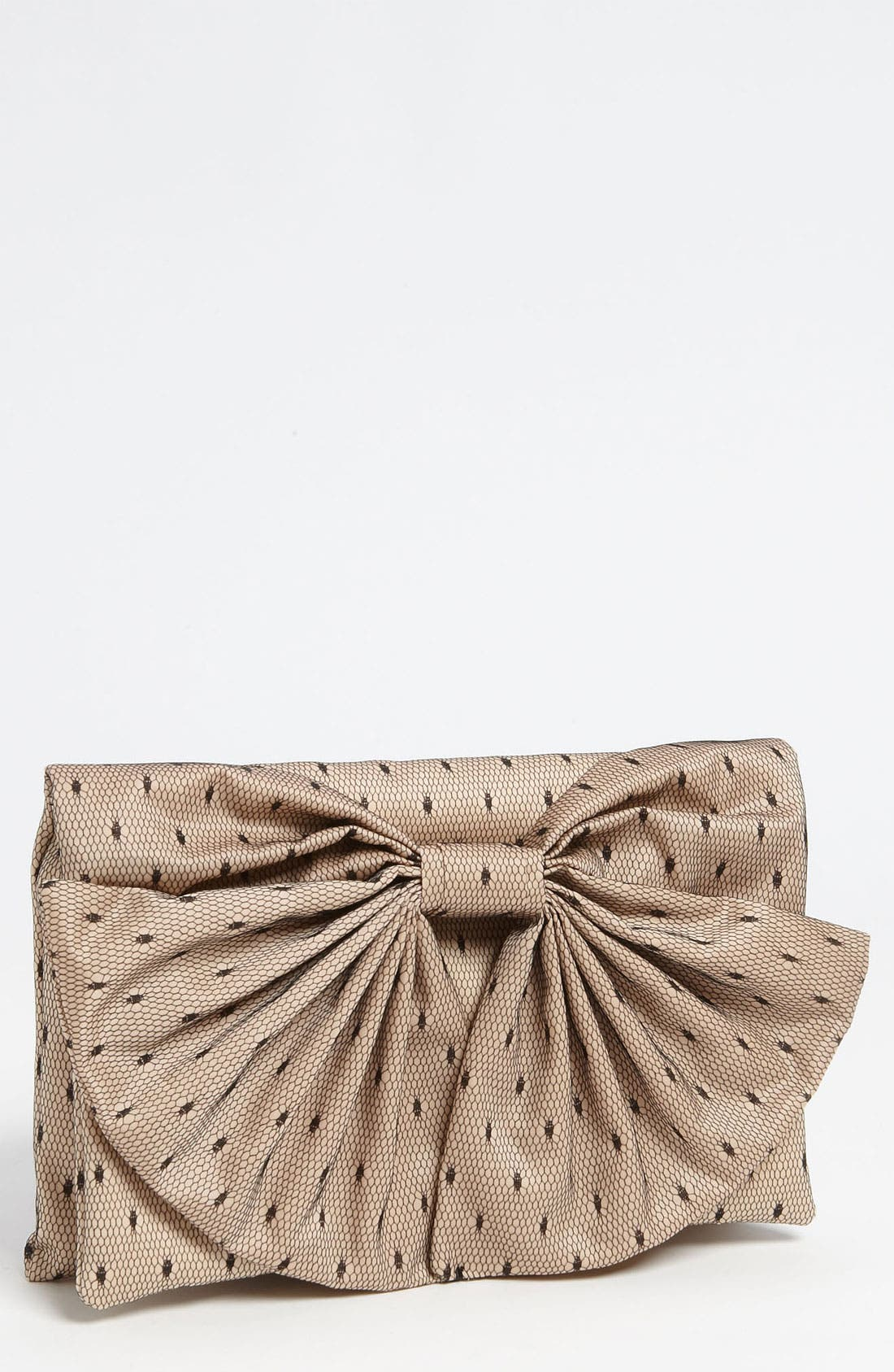 Alternate Image 1 Selected - RED Valentino 'Bow' Point d'Esprit Clutch