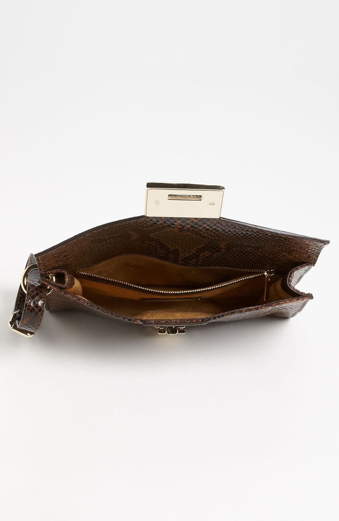 Alternate Image 3  - Jimmy Choo 'Rivera - Small' Leather Clutch