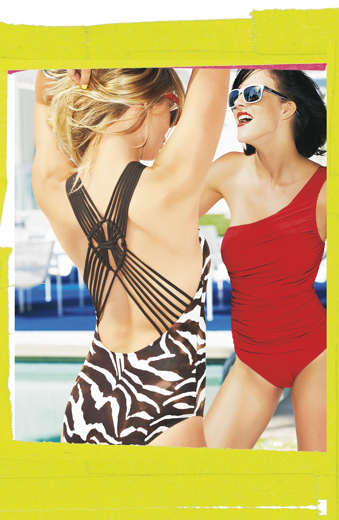 Alternate Image 4  - La Blanca One Shoulder One Piece Swimsuit