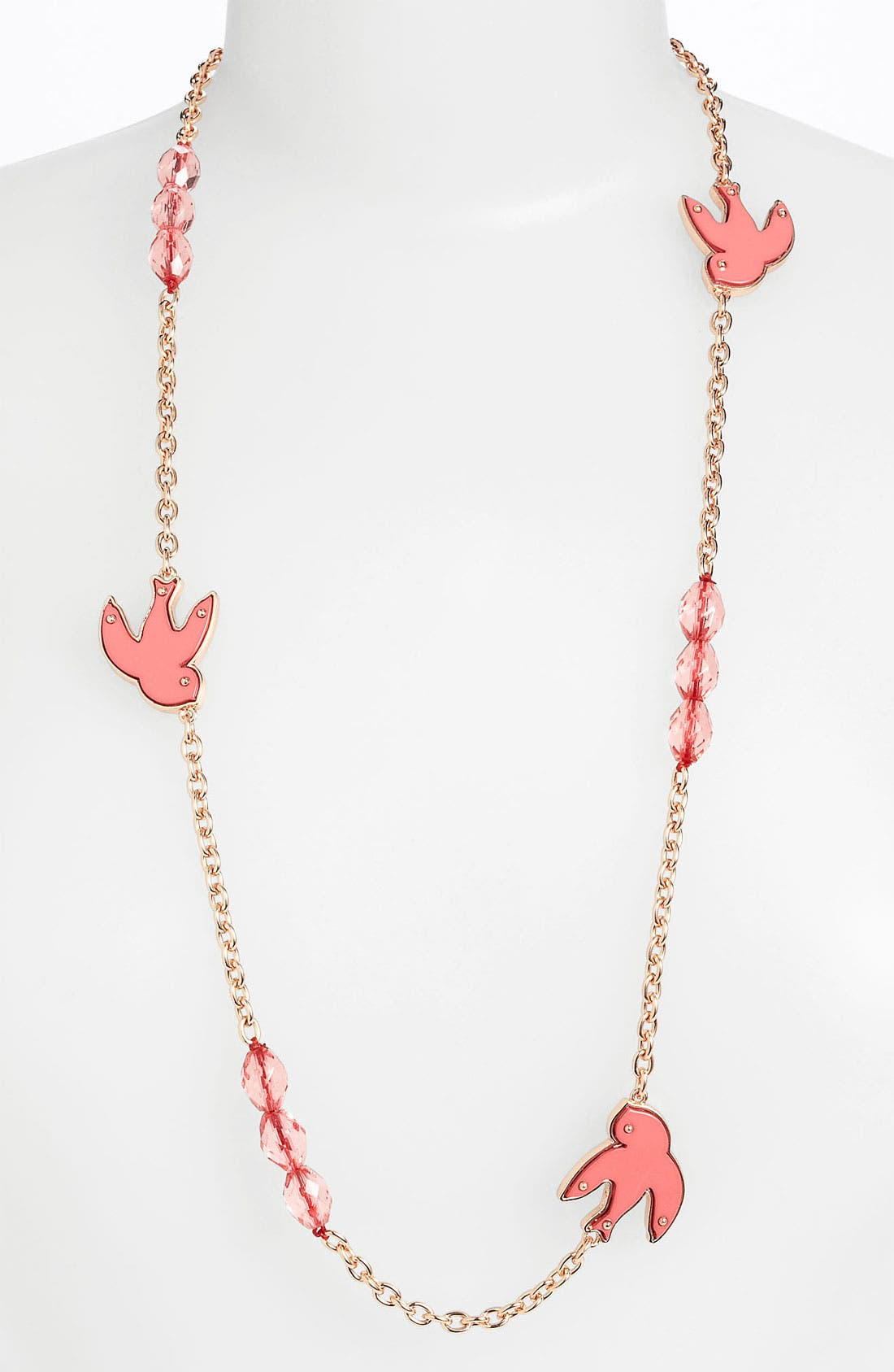 Alternate Image 1 Selected - MARC BY MARC JACOBS 'Petal to the Metal' Long Station Necklace