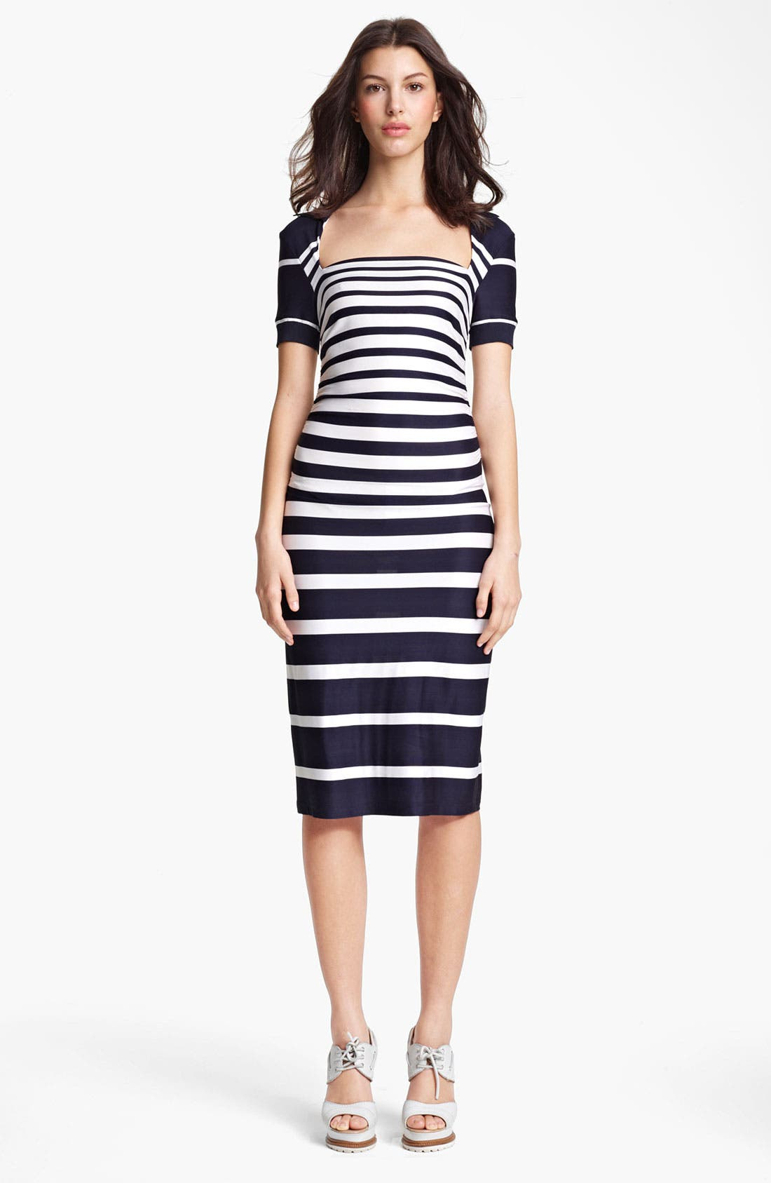Alternate Image 1 Selected - Jean Paul Gaultier Stripe Jersey Dress